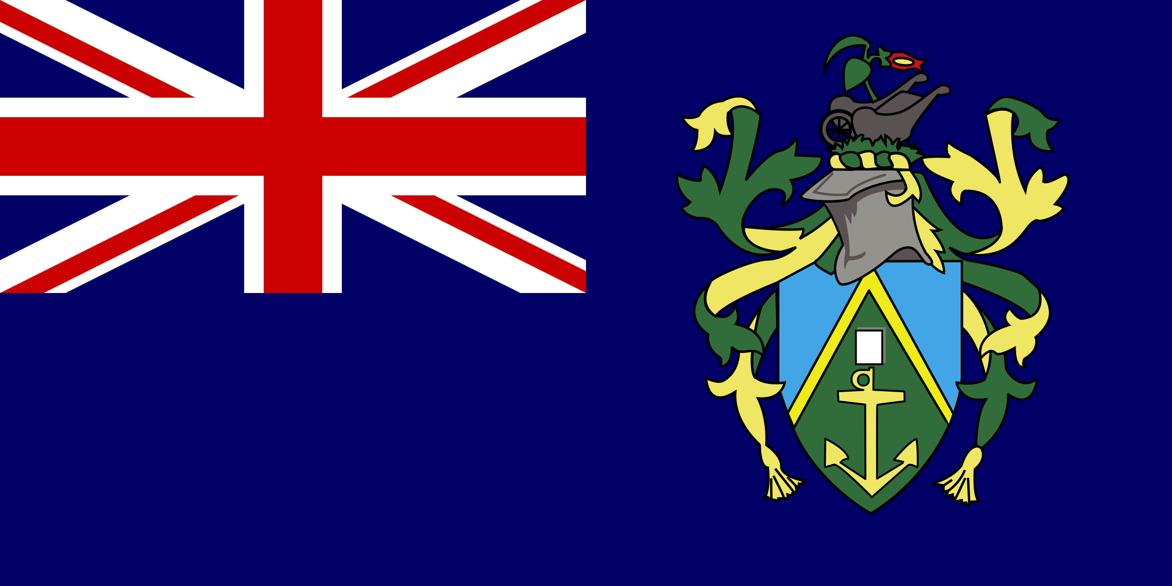 Flag of Pitcairn Islands by tobias