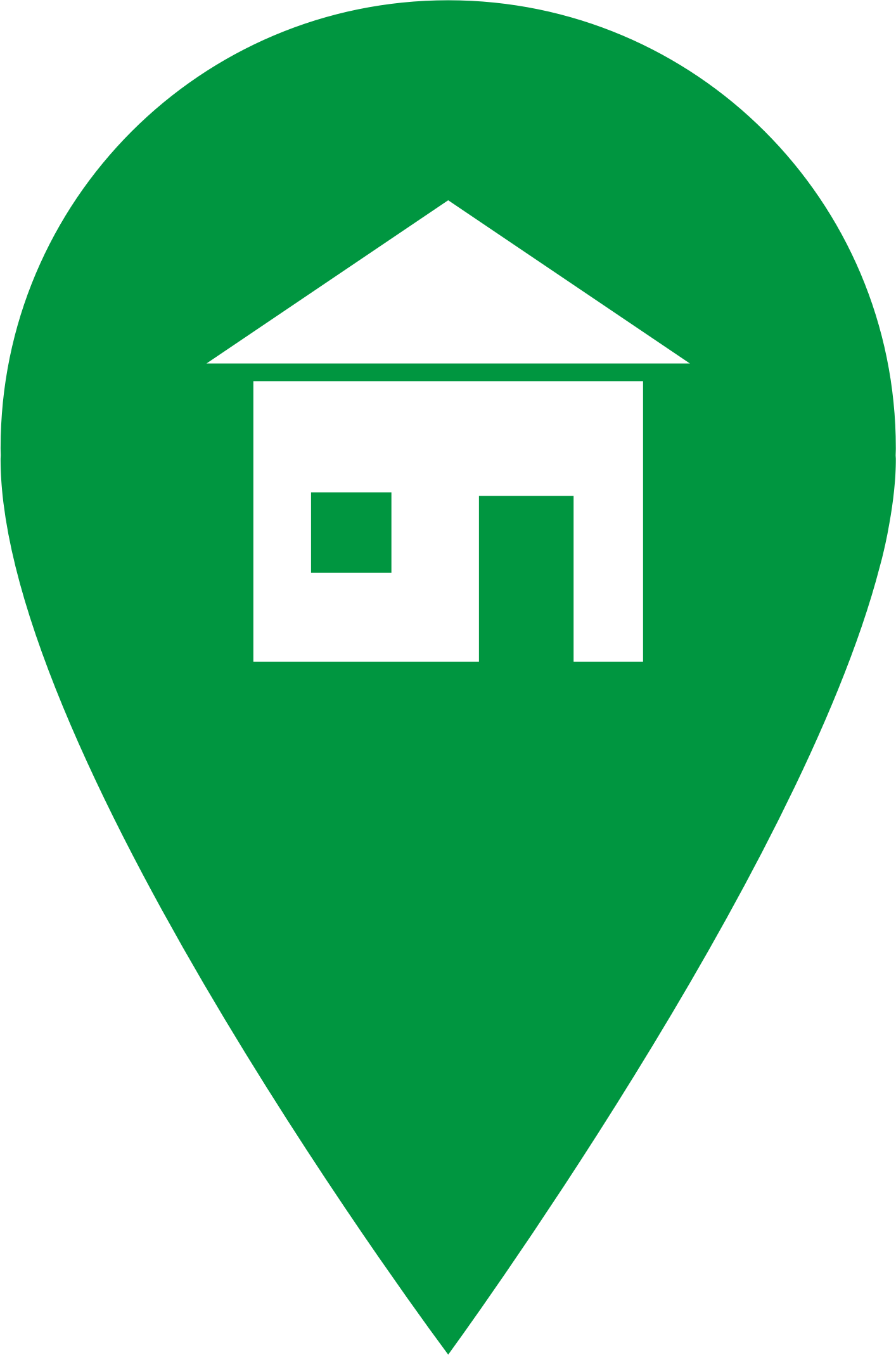 Green Home Icon by J32