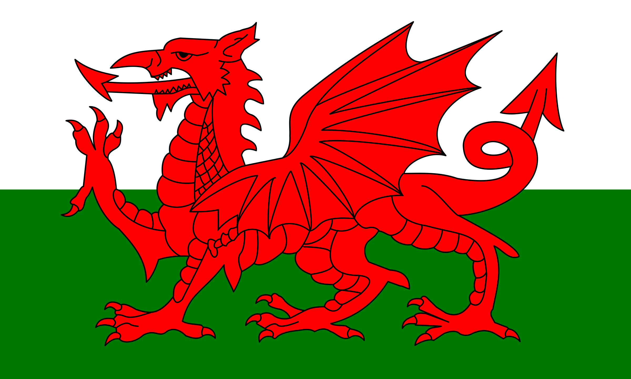 Flag of Wales - United Kingdom by tobias