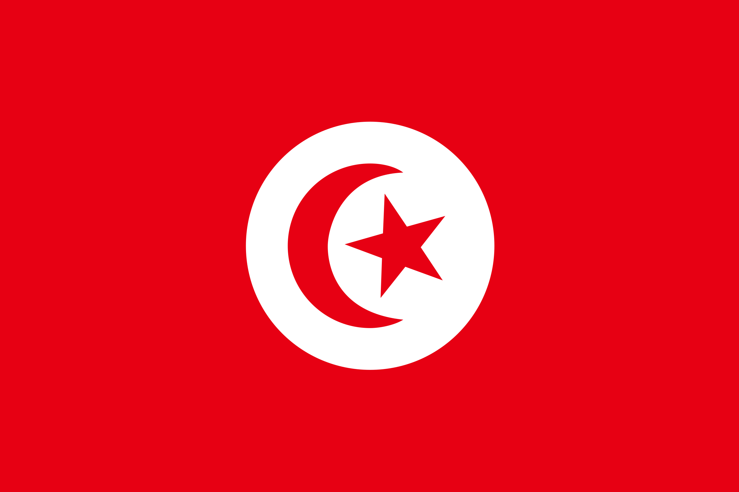 Flag of Tunisia by tobias