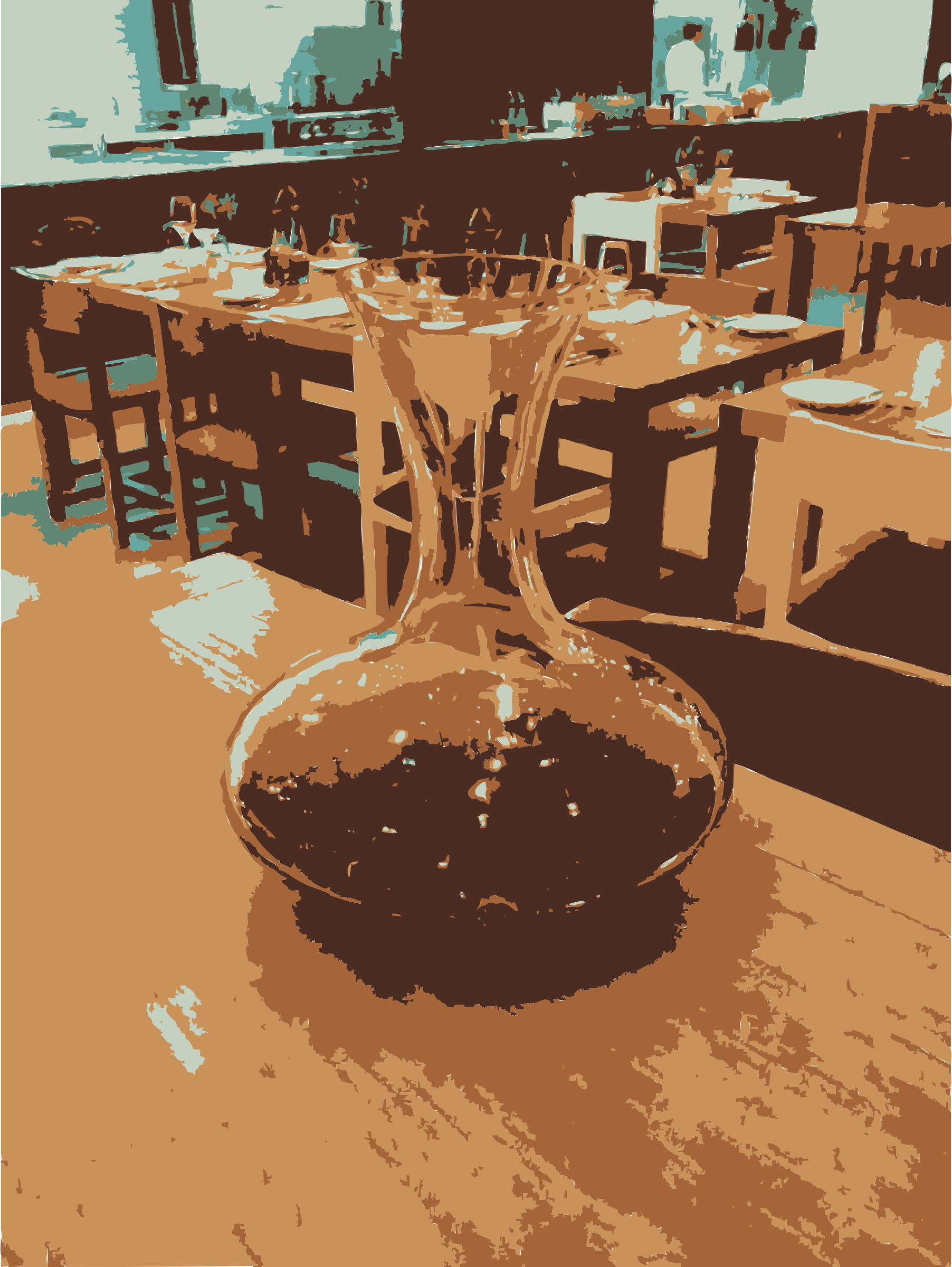 Caraffe of wine by rejon
