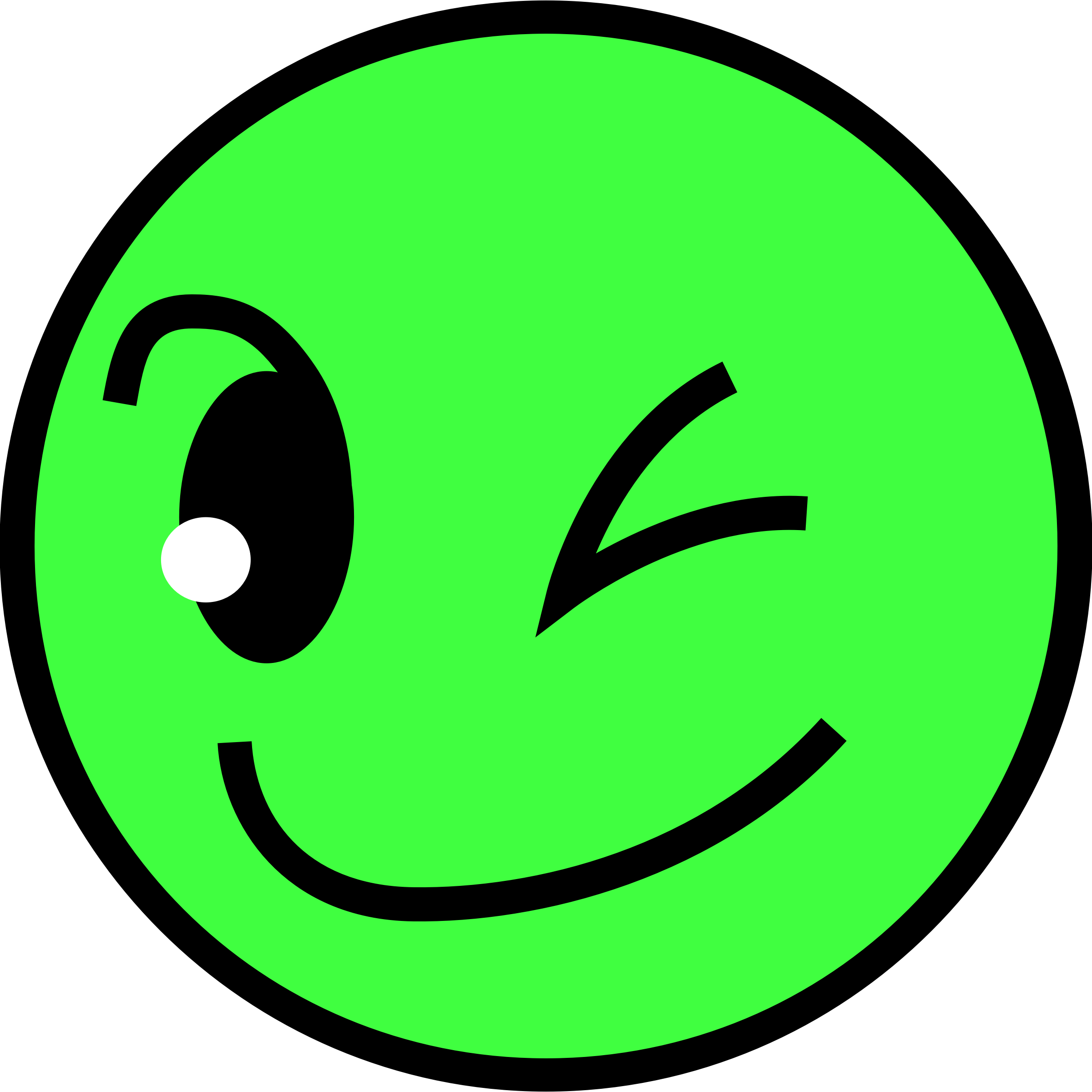 Clipart - Smiling face