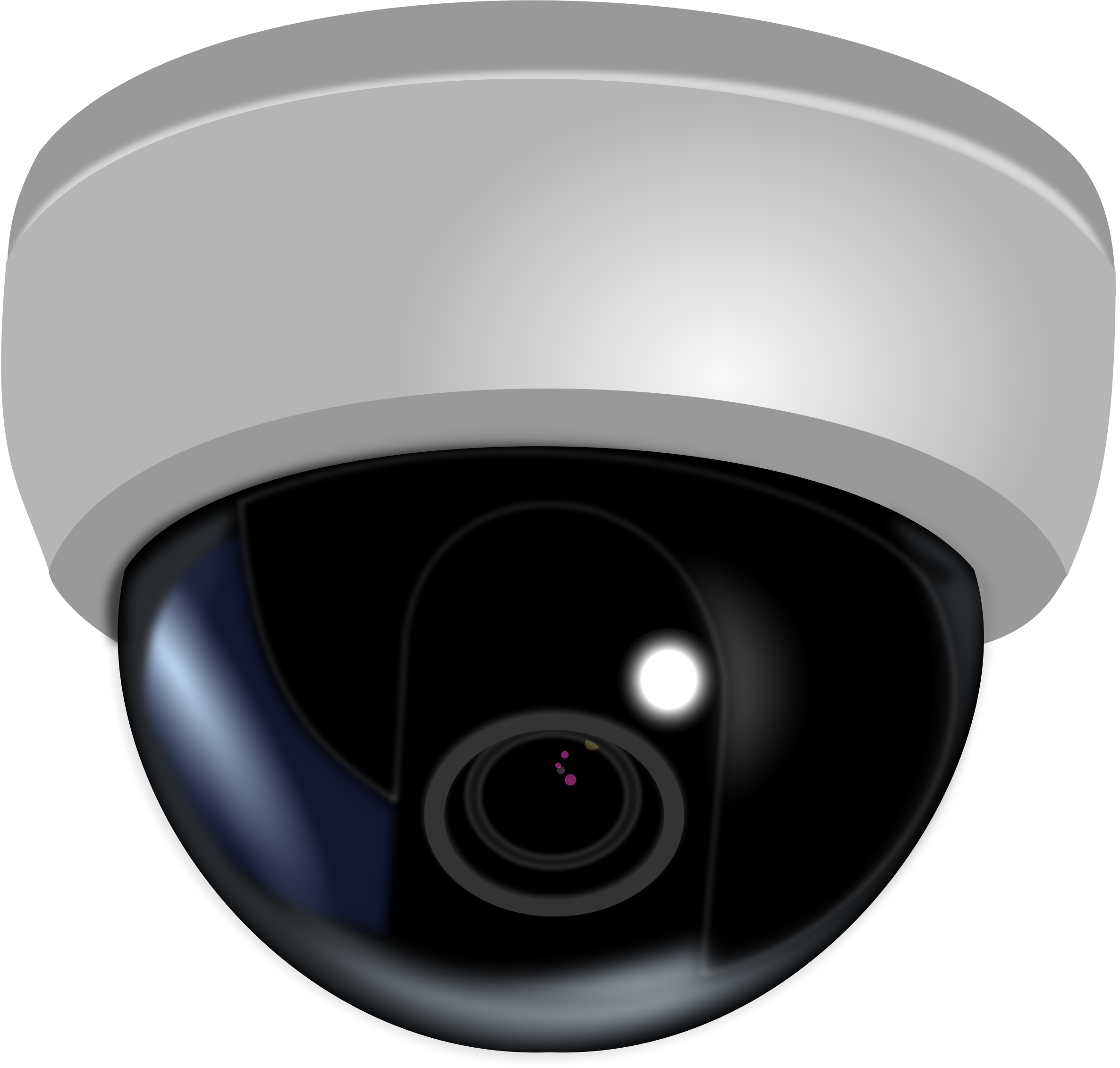 CCTV Dome Camera by mi_brami