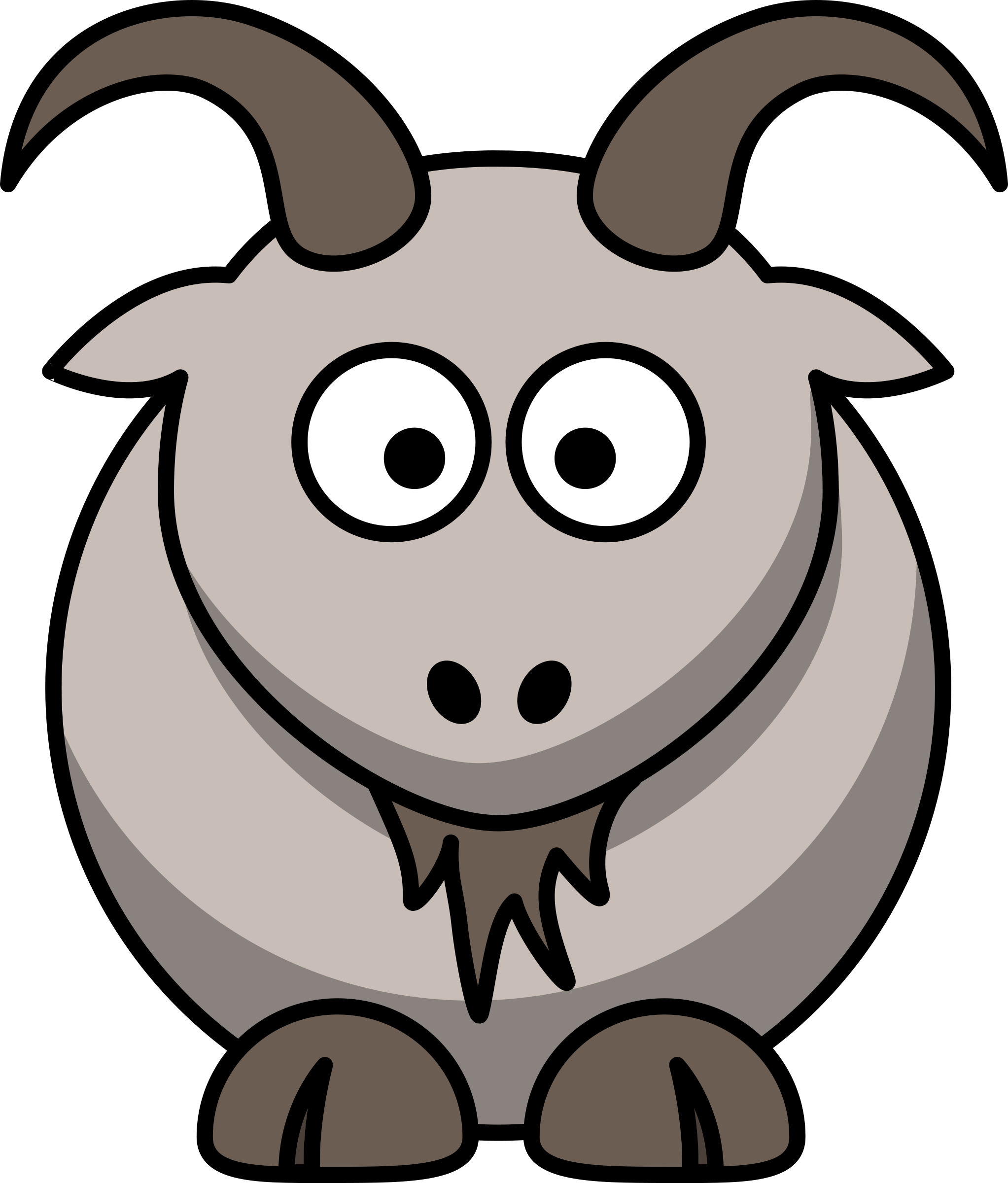 Cartoon goat by lemmling