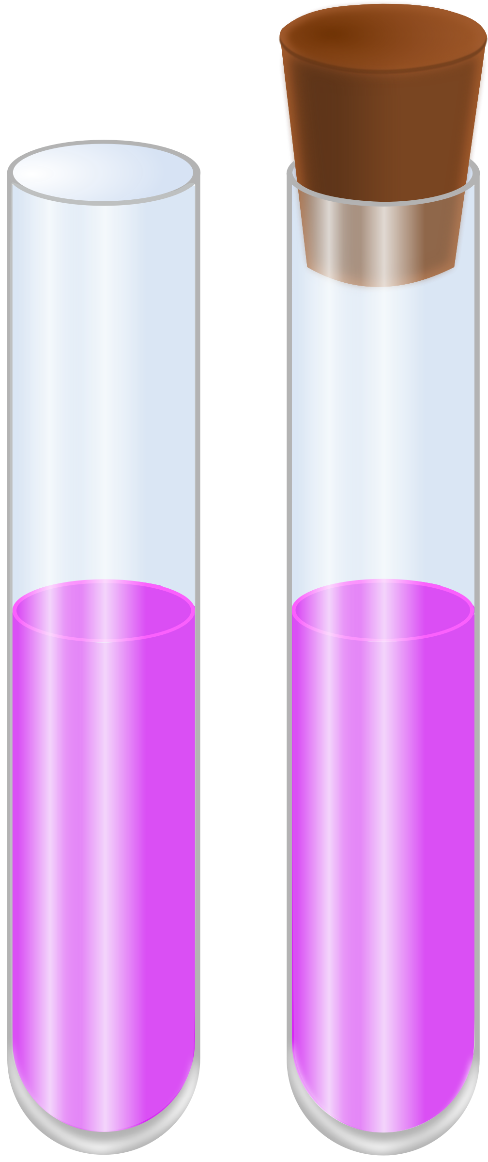 Big image png for Simple glass tubes