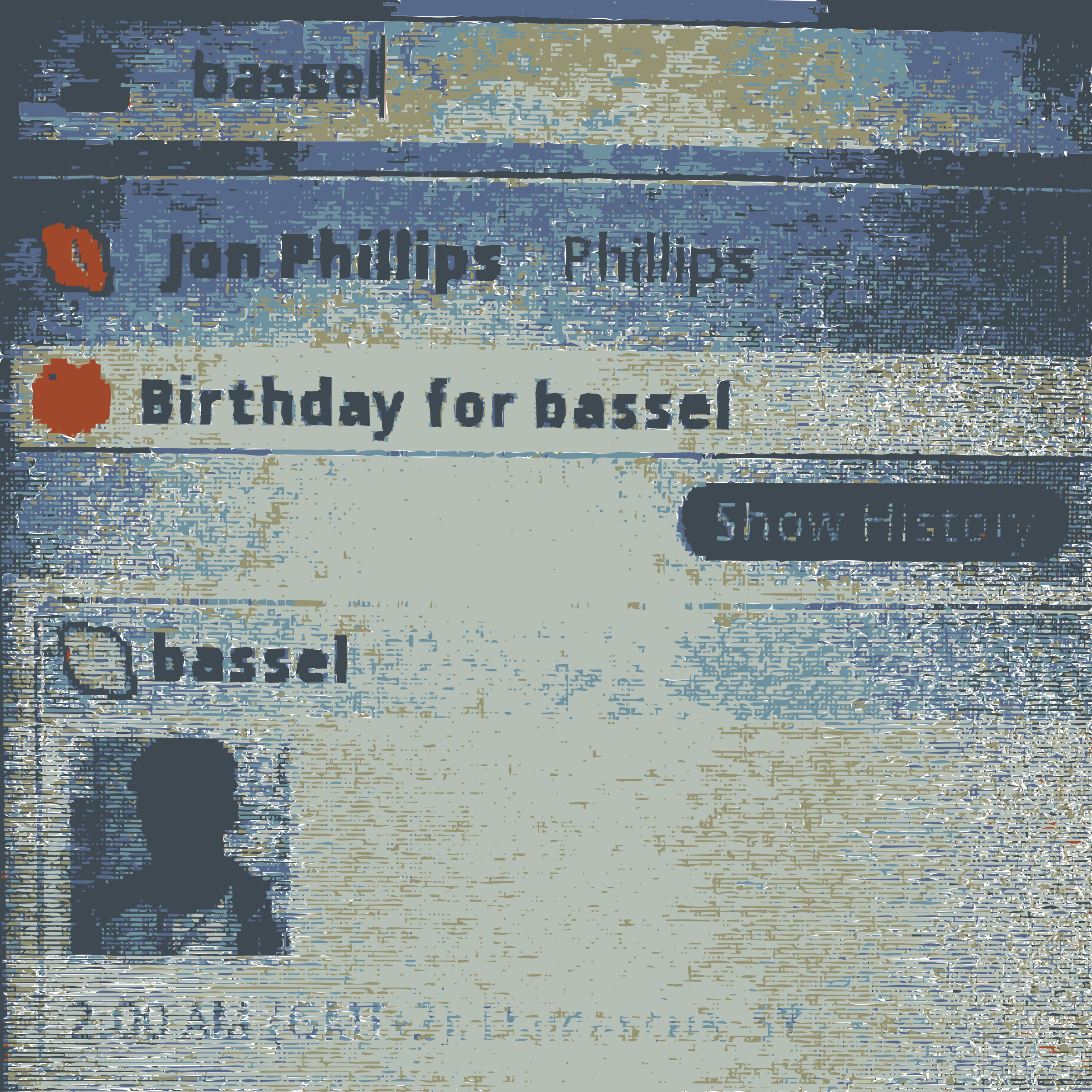 Bassels birthday message by rejon