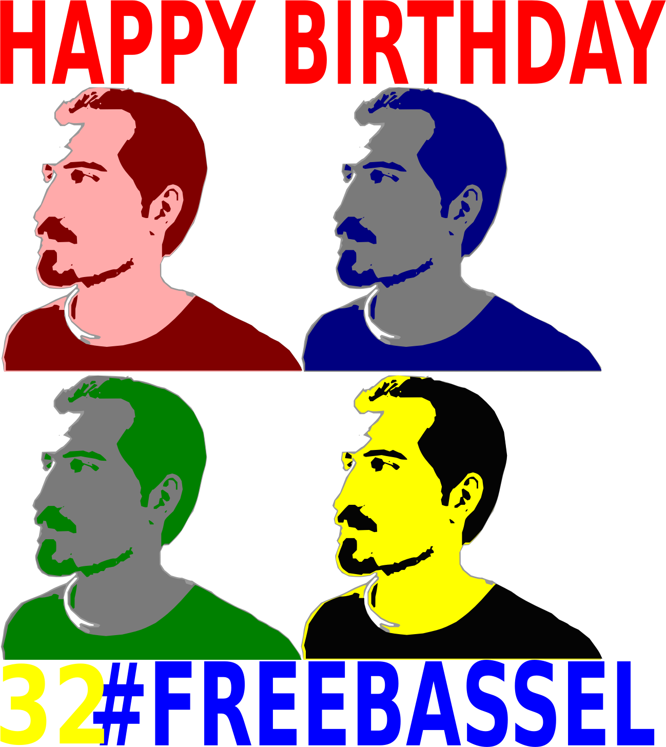 32 Birthday FREEBASSEL  by jykhui