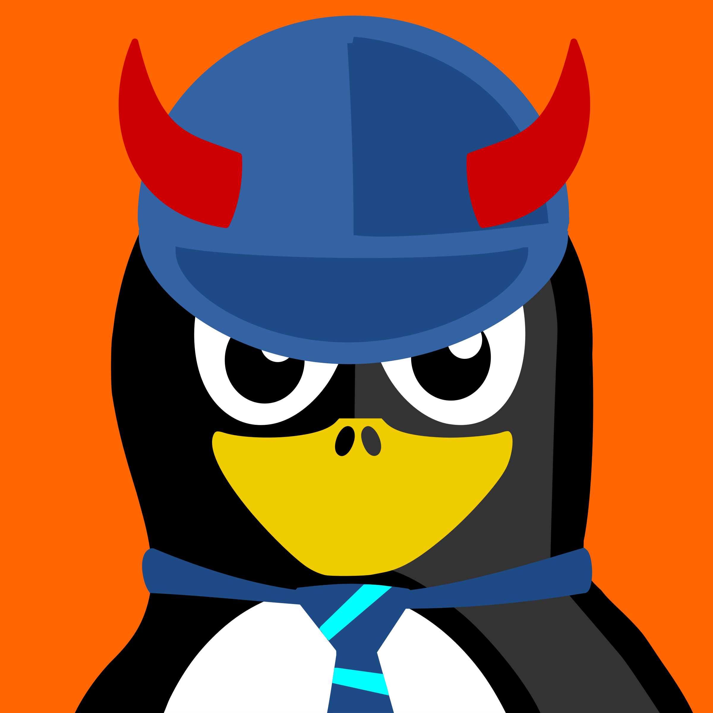 acdc penguin by BartM