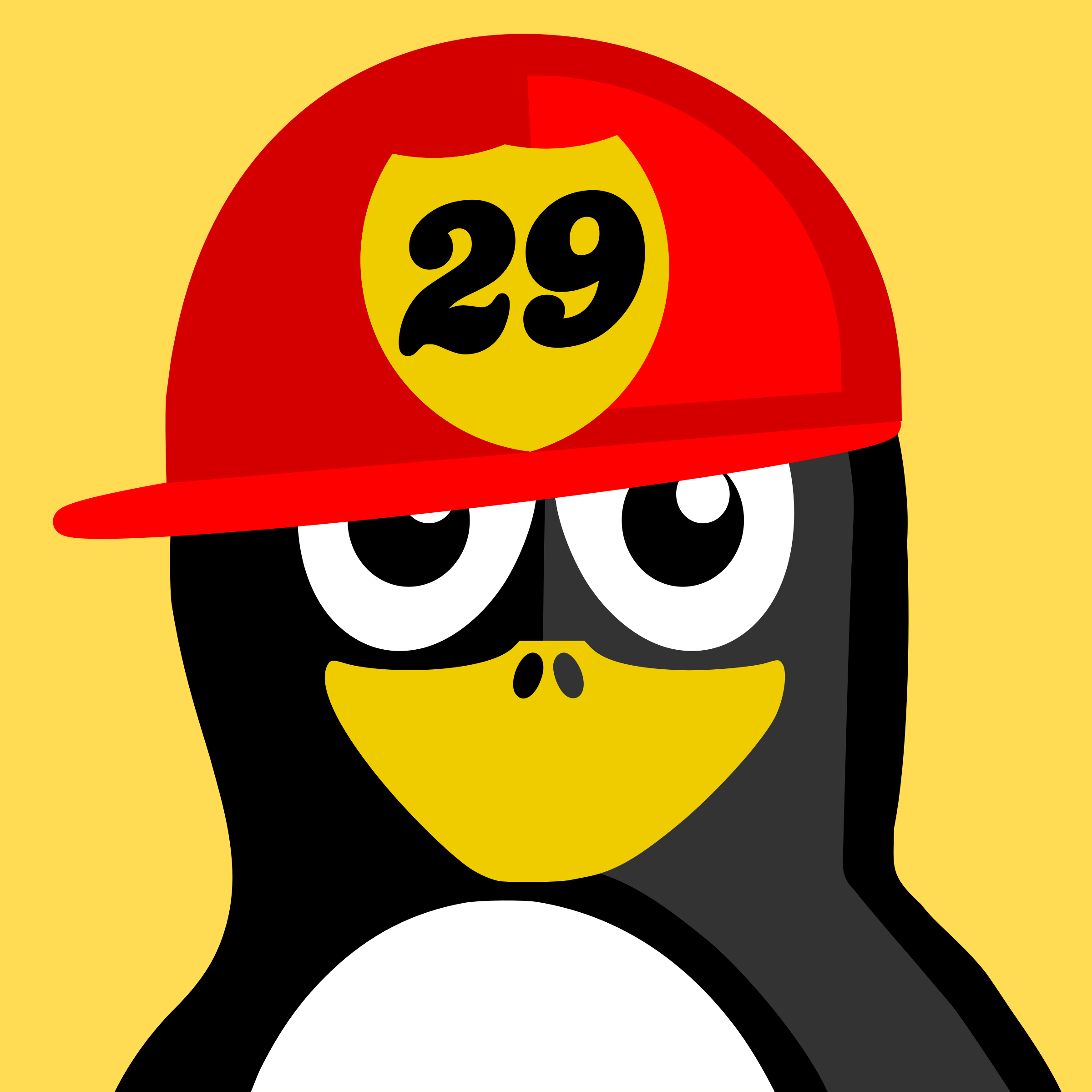 fireman penguin by BartM