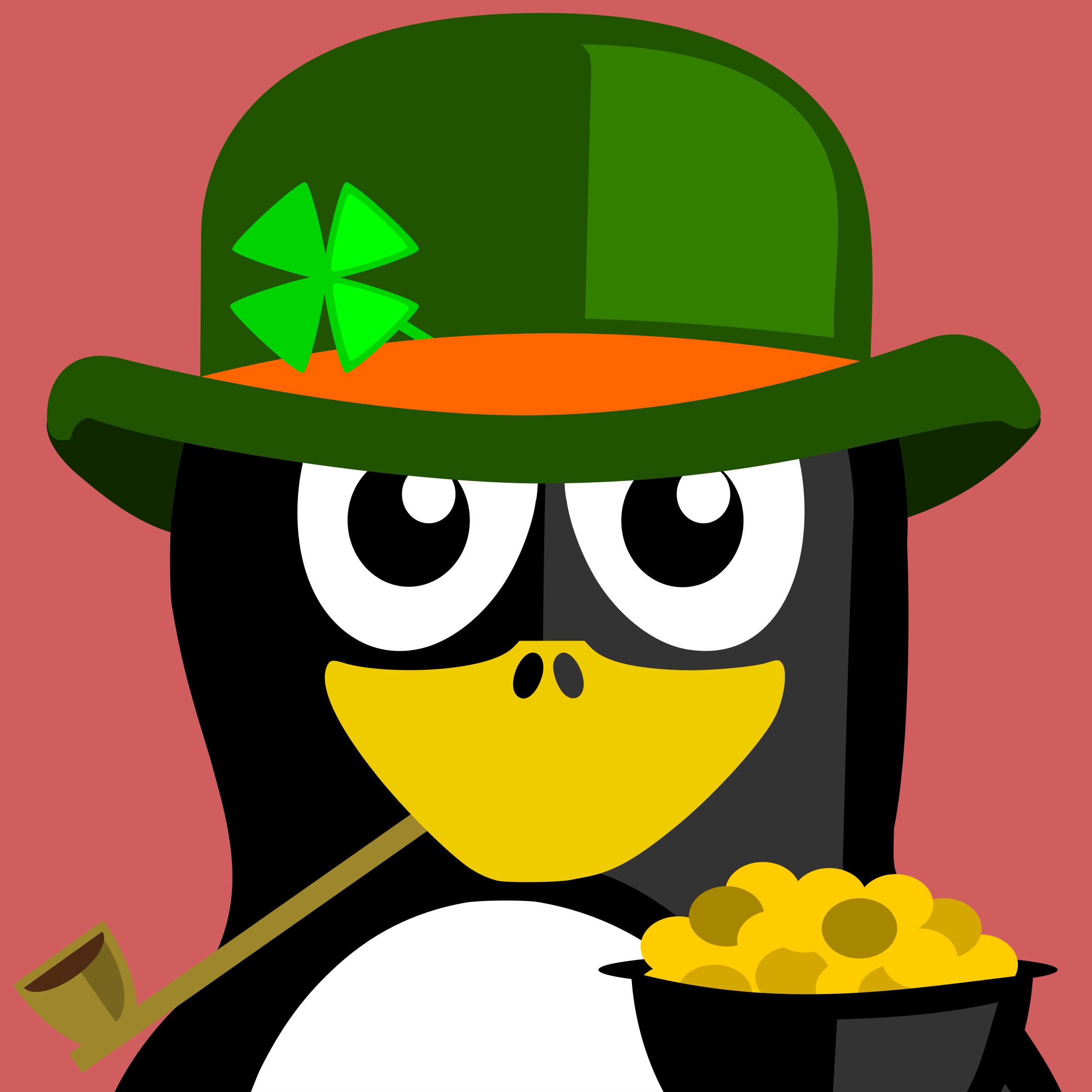 Irish Penguin by BartM