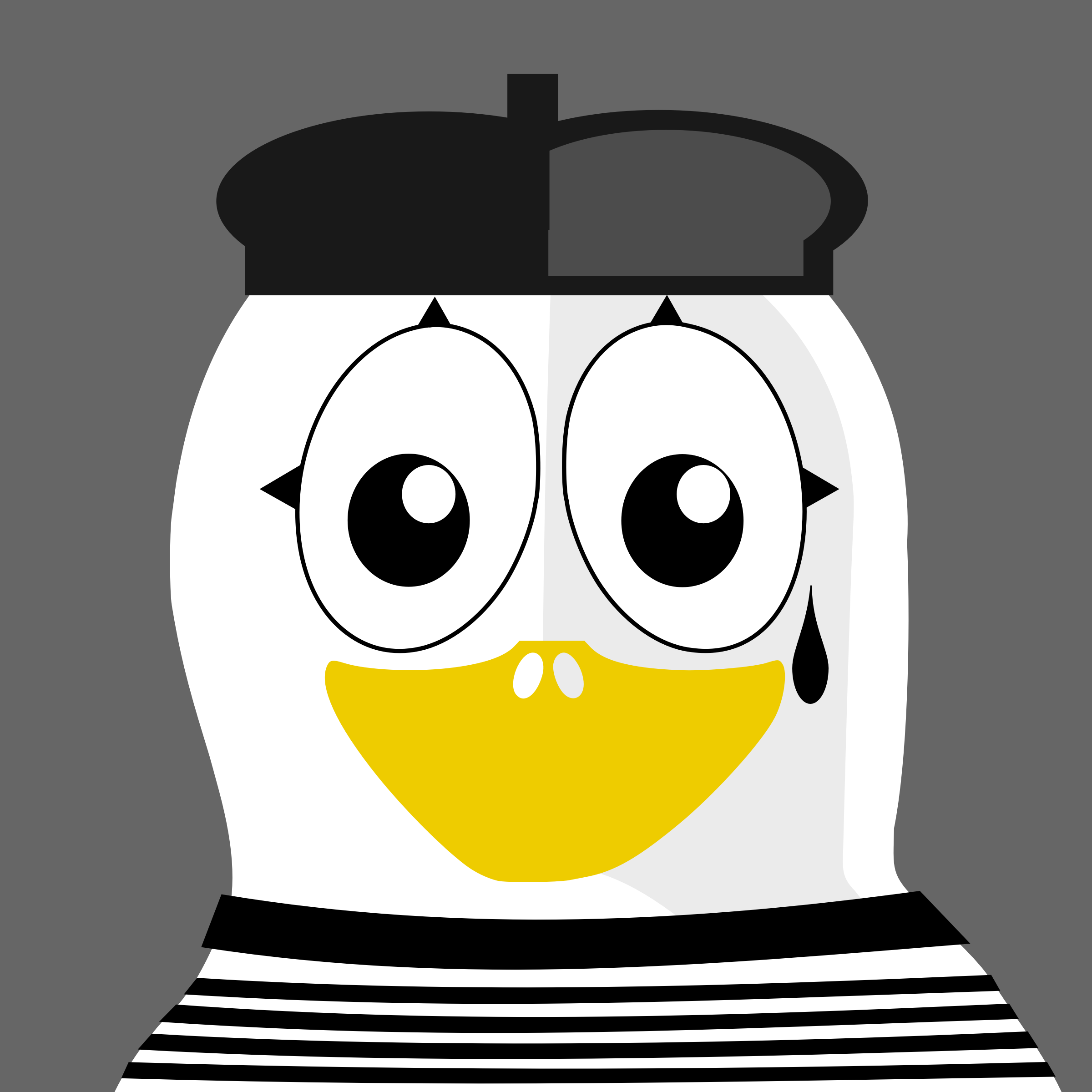 mime penguin by BartM