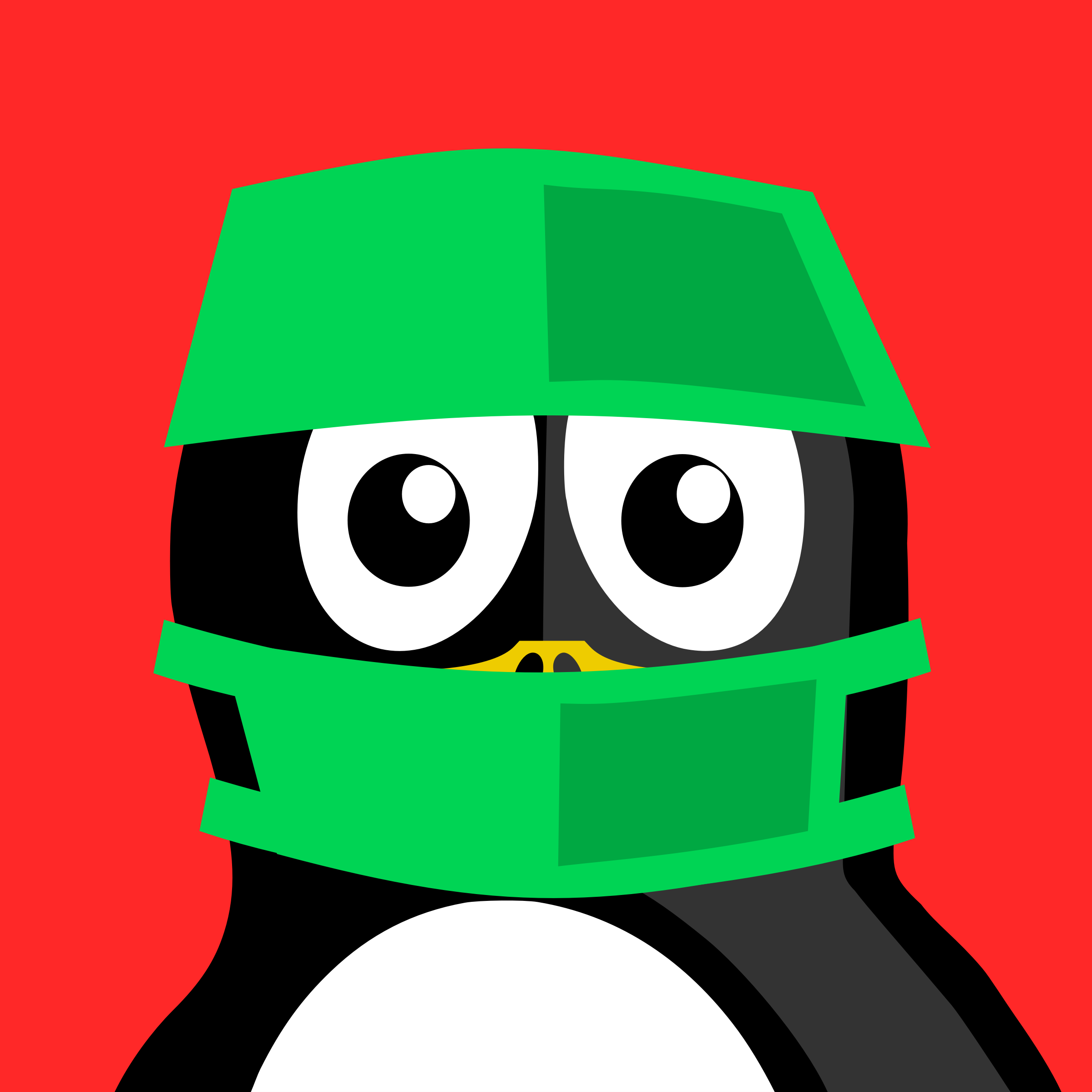 surgeon penguin by BartM