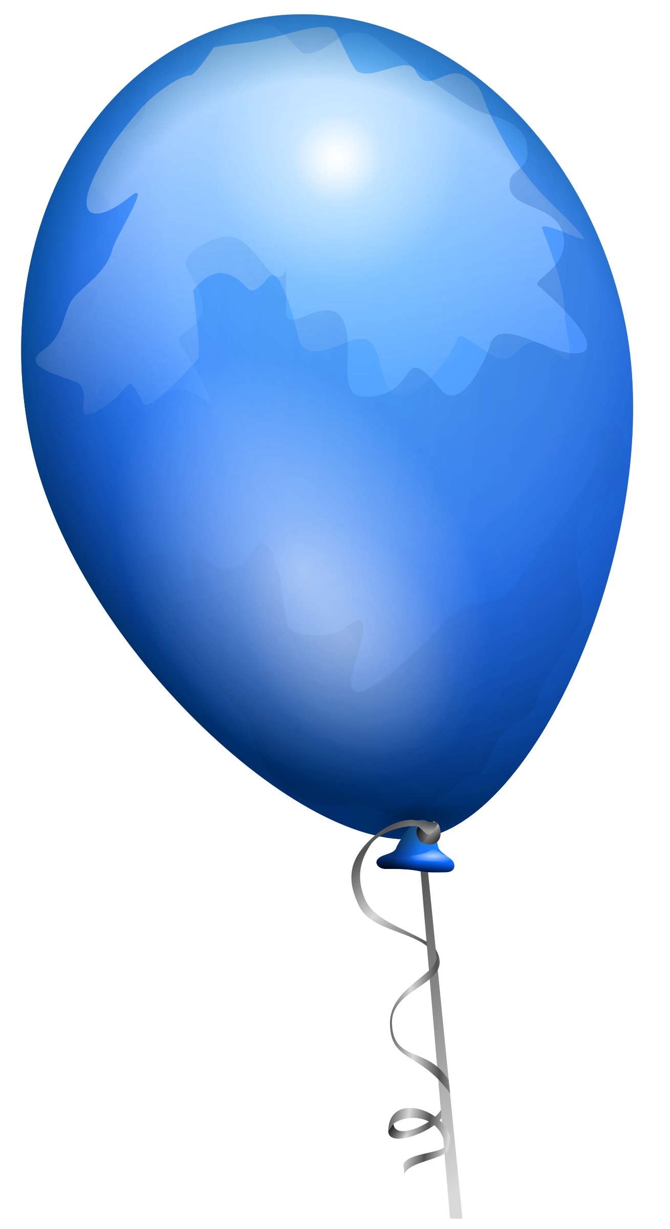Blue balloon by AJ