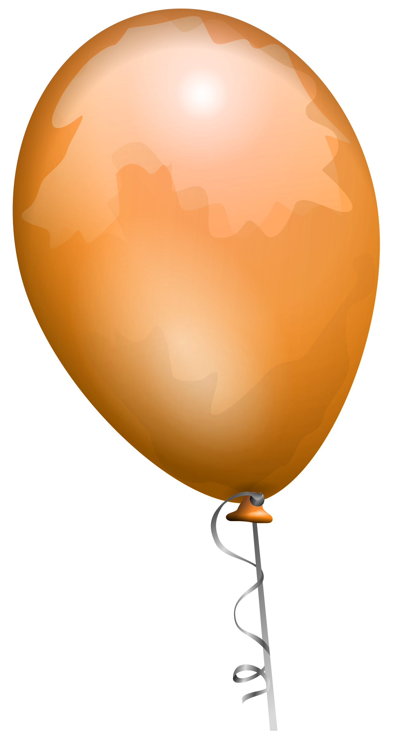 Orange balloon by AJ