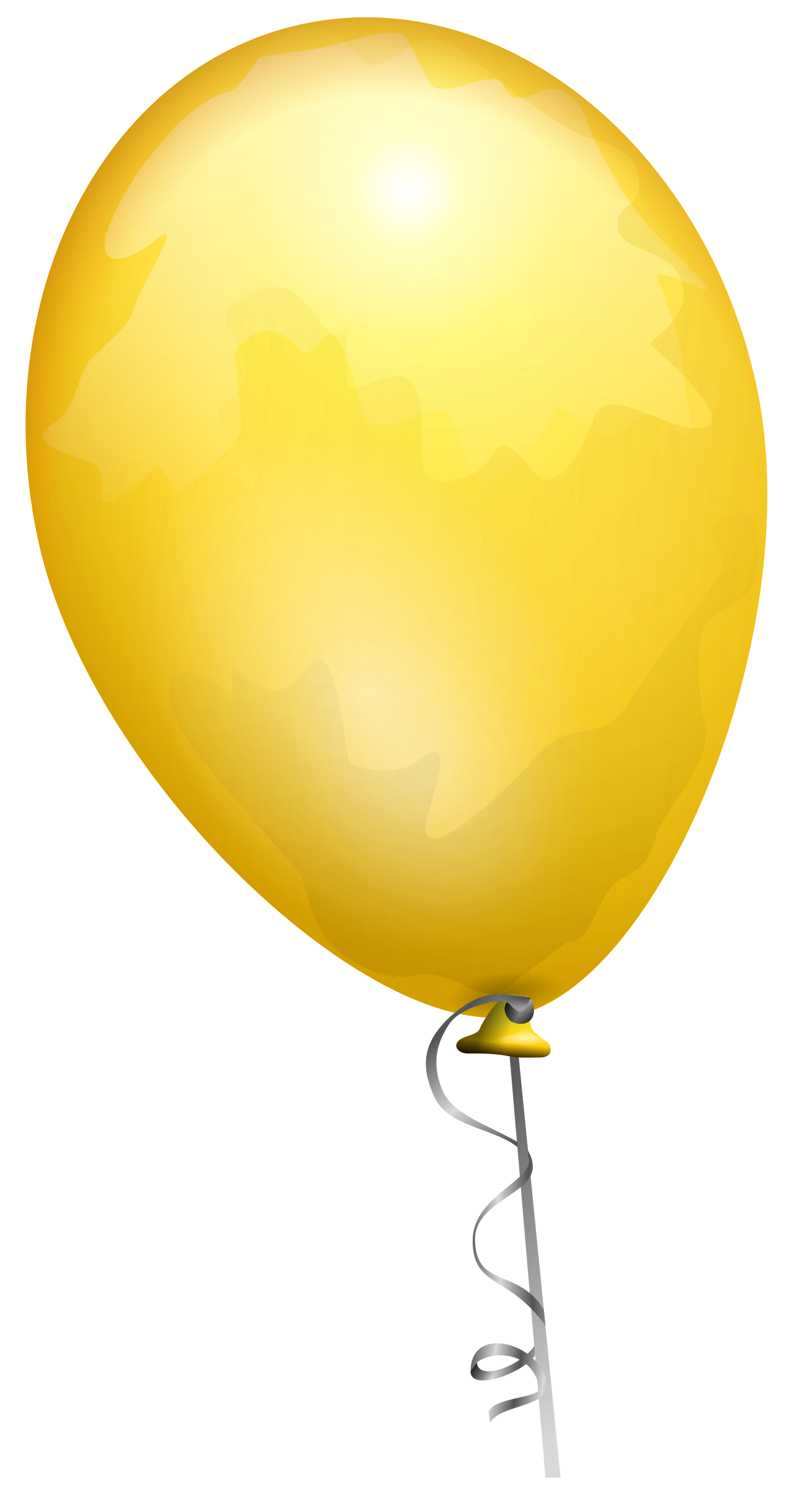 Yellow balloon by AJ