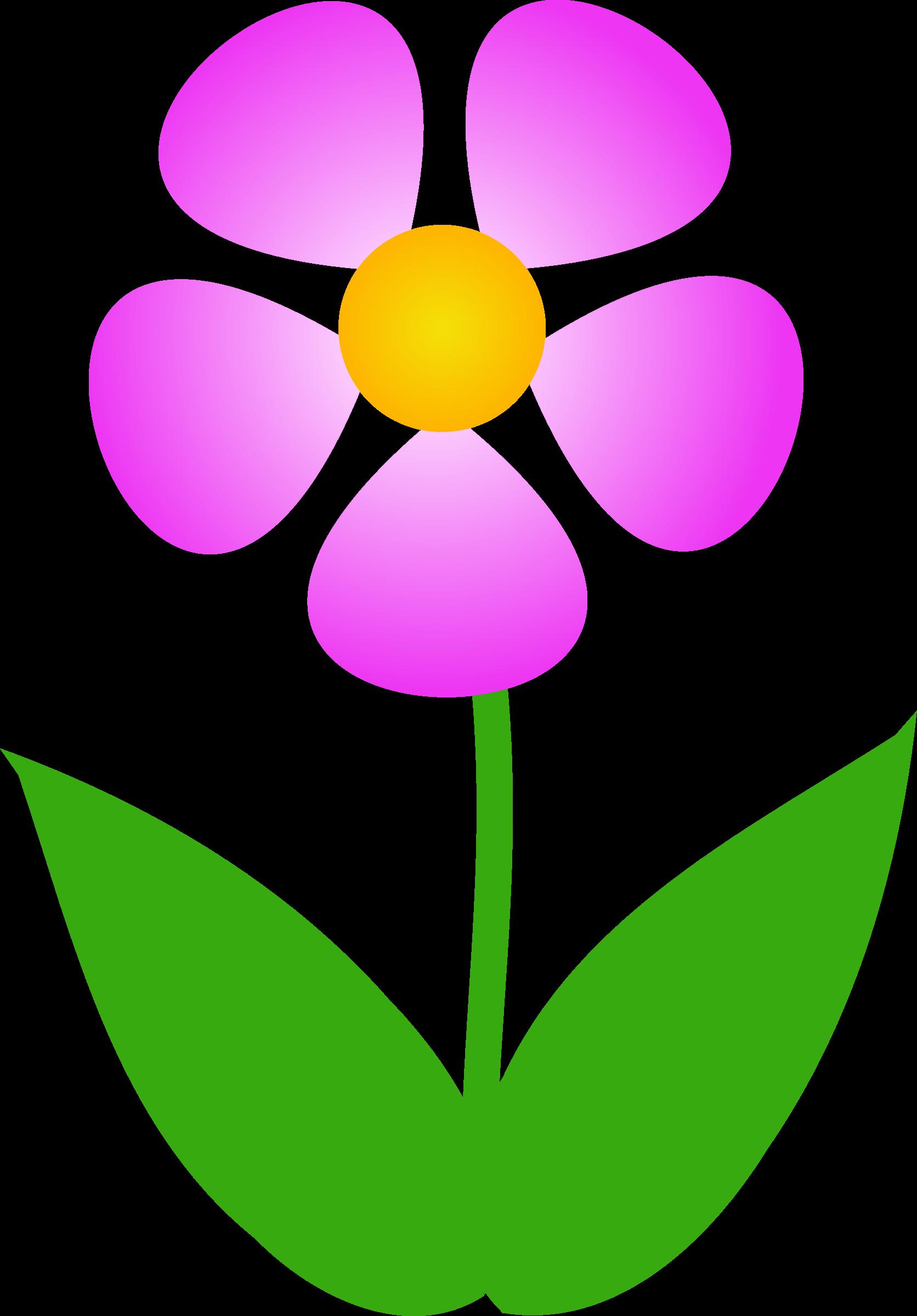 Clipart Pink Flower