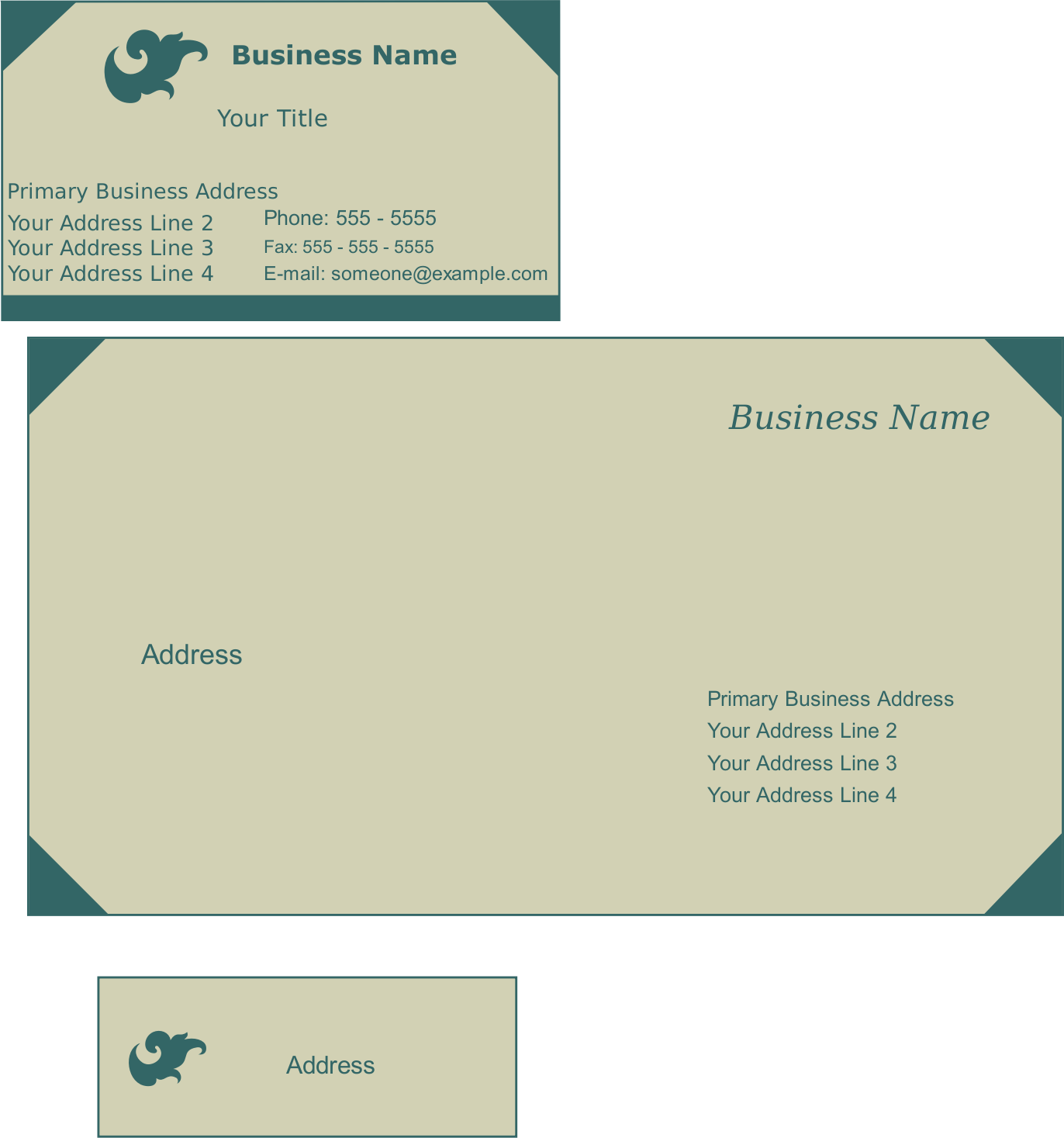 Stationery Templates by sRawa