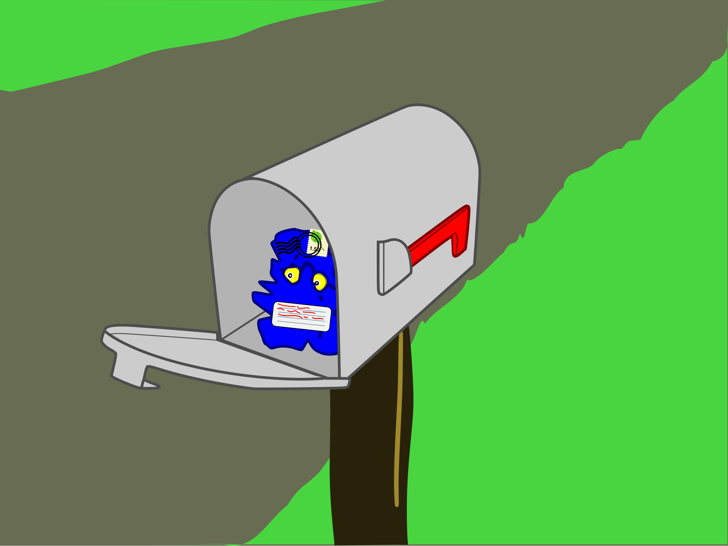 Mailbox Surprise by mazeo