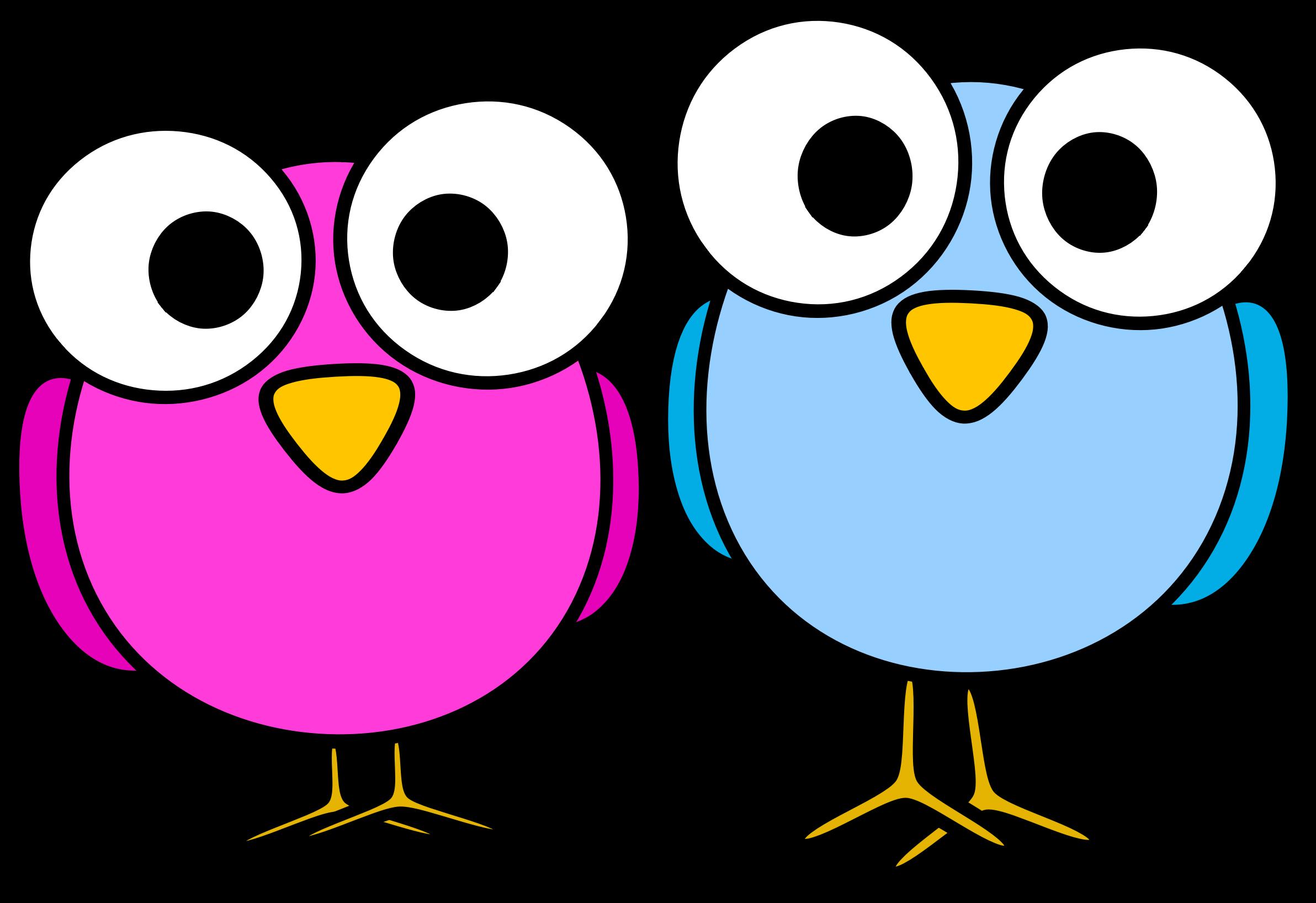 Cute cartoon animals with big eyes - Big Image Png