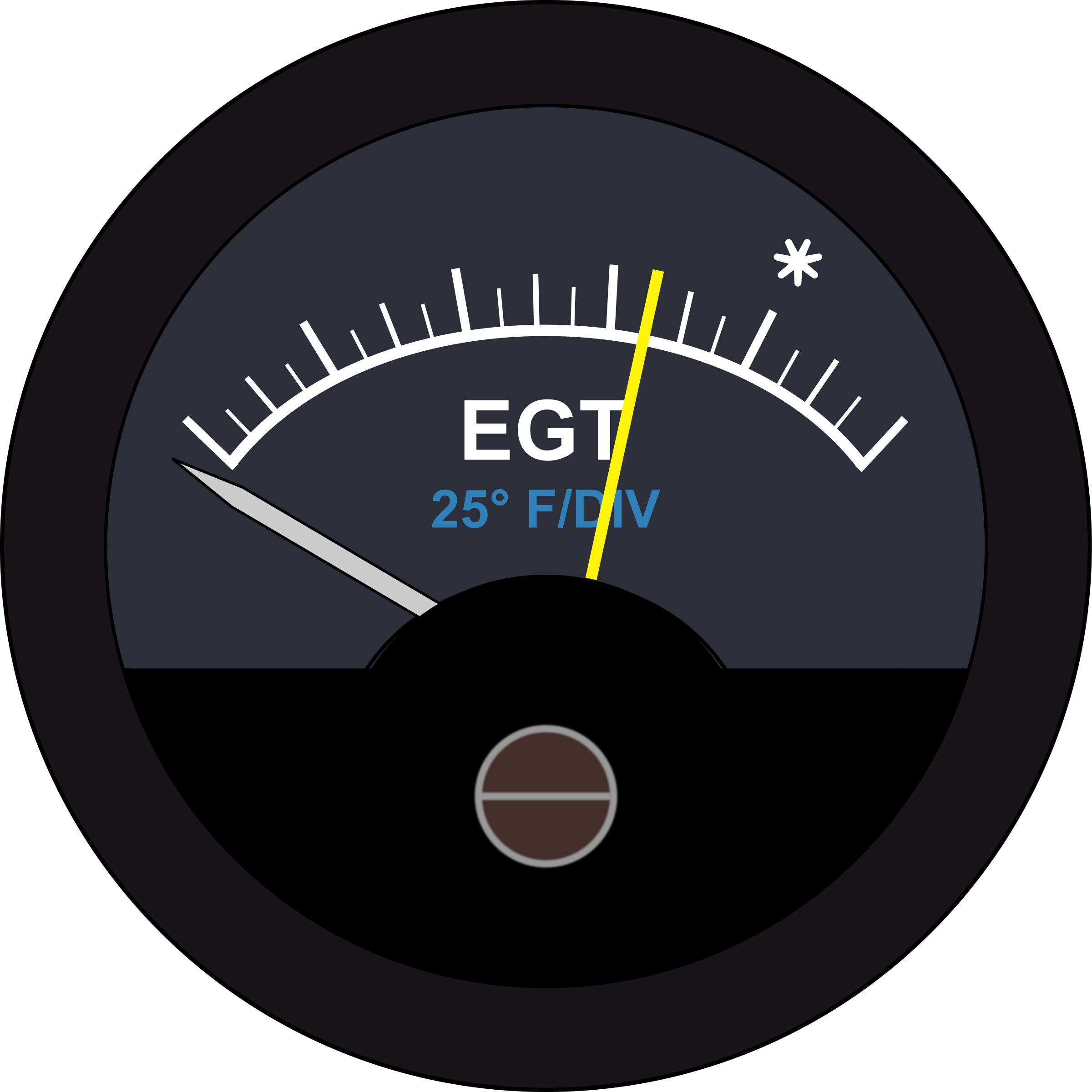 Aircraft EGT Guage by Startright