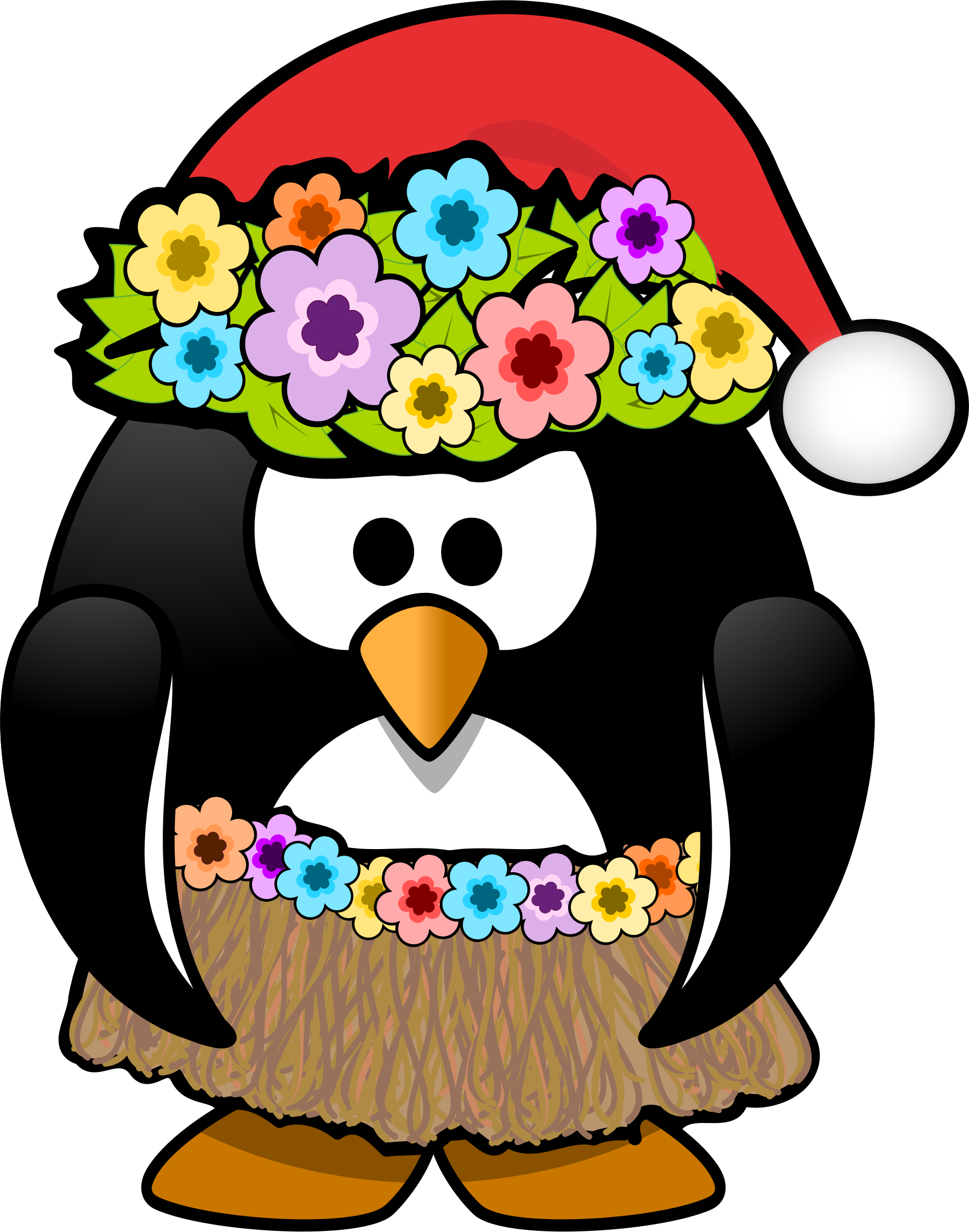 Christmas in July Penguin by KAMC