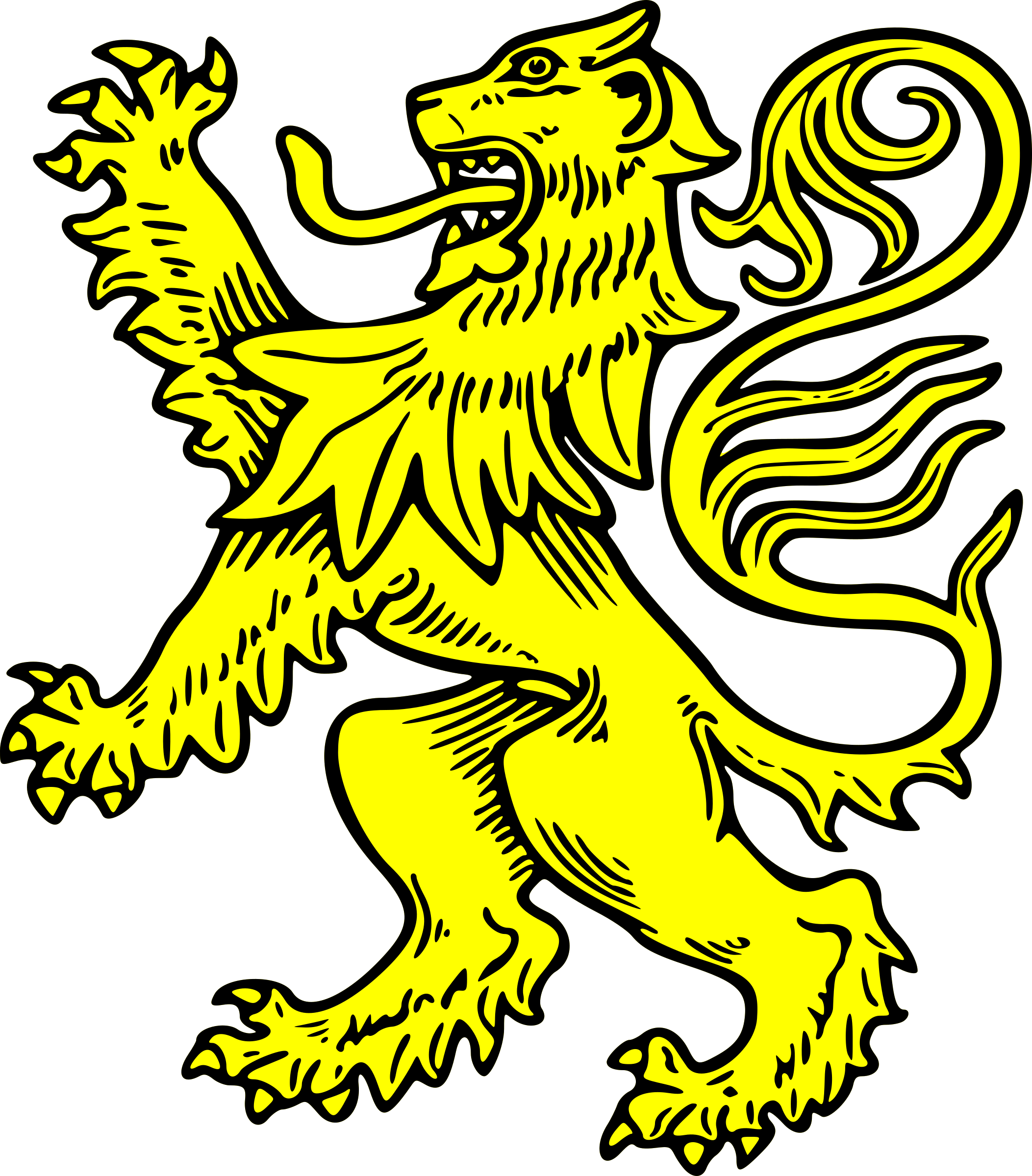 lion rampant by szquirrel