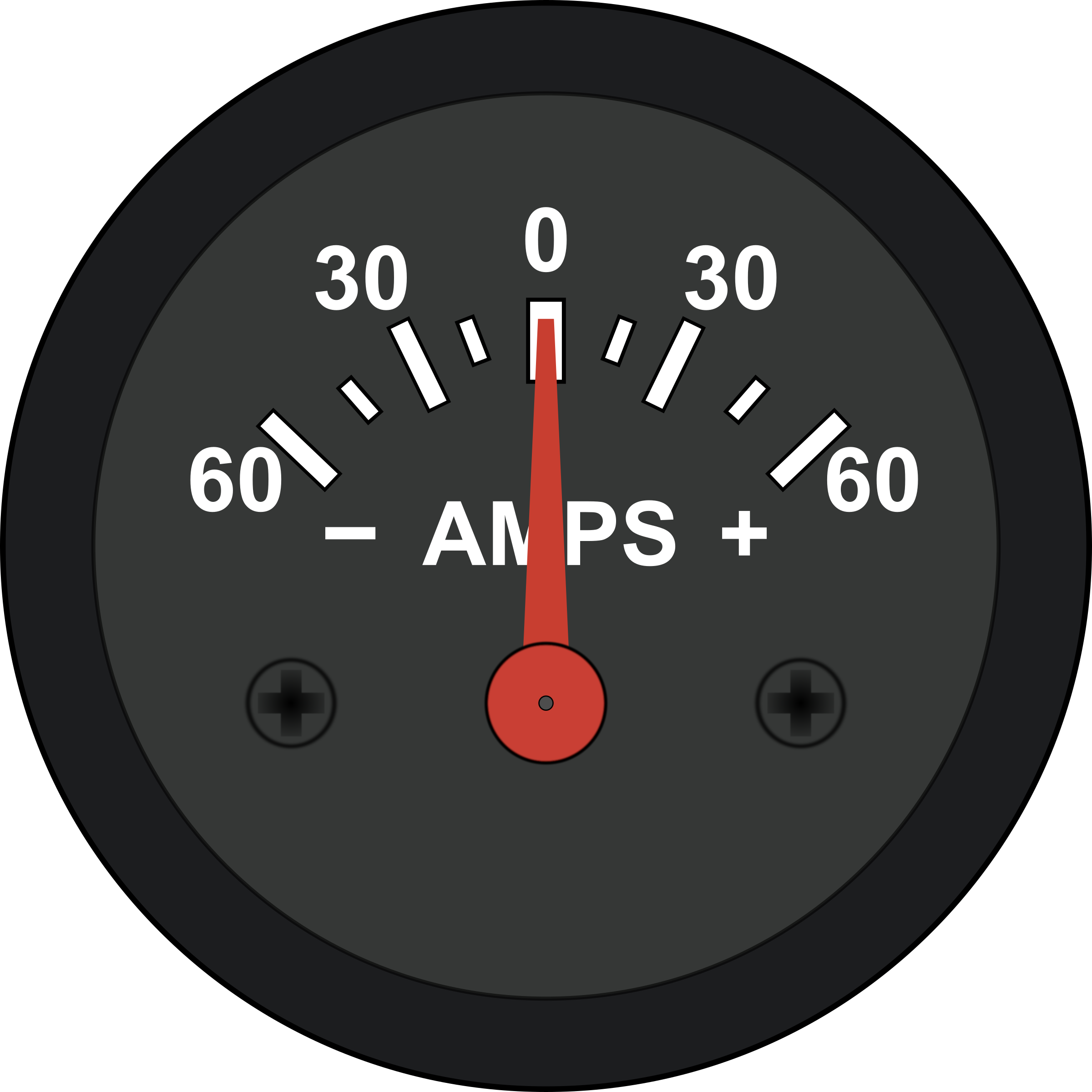 Automotive Amp Meter by Startright