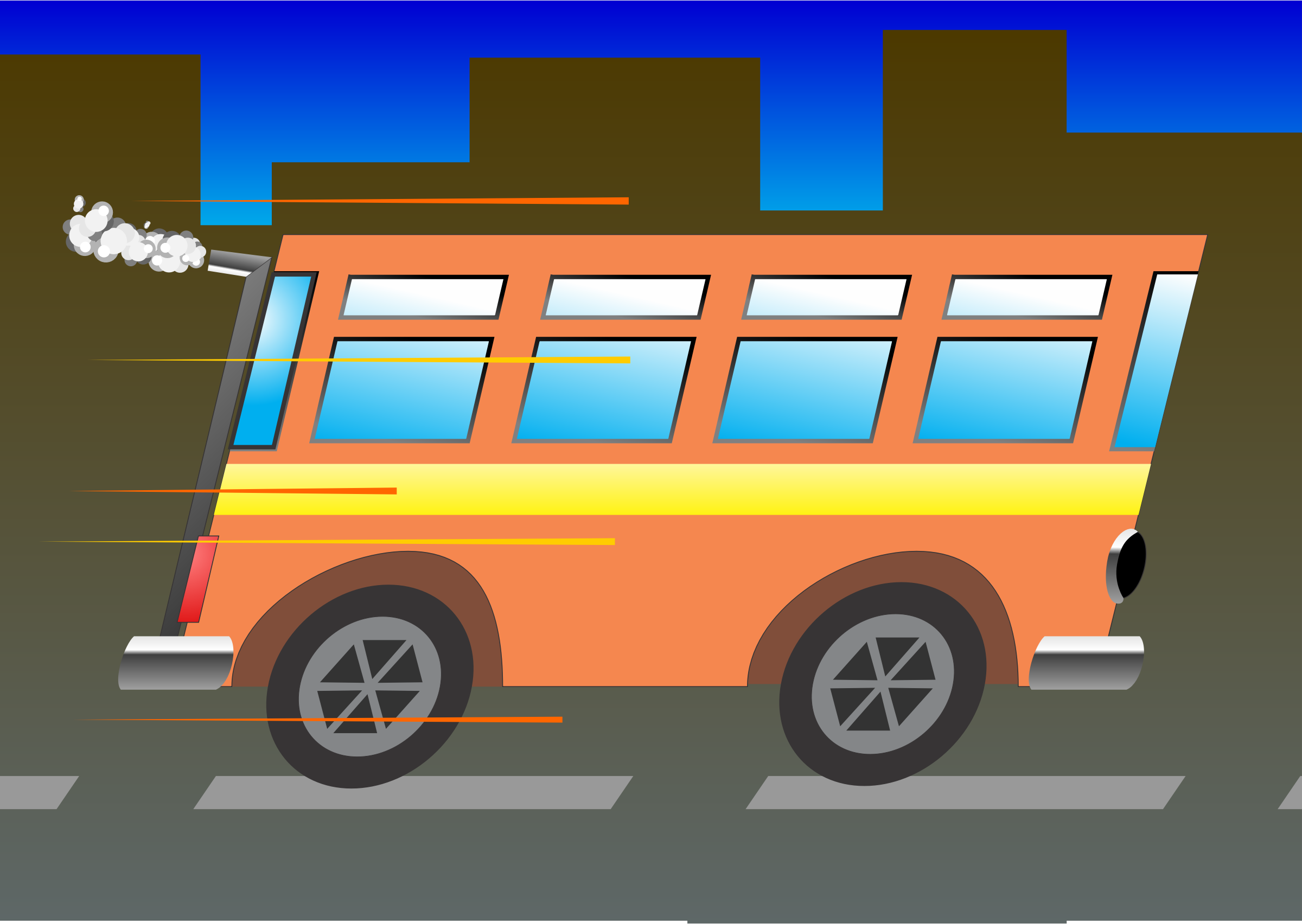 School Bus by gustavorezende