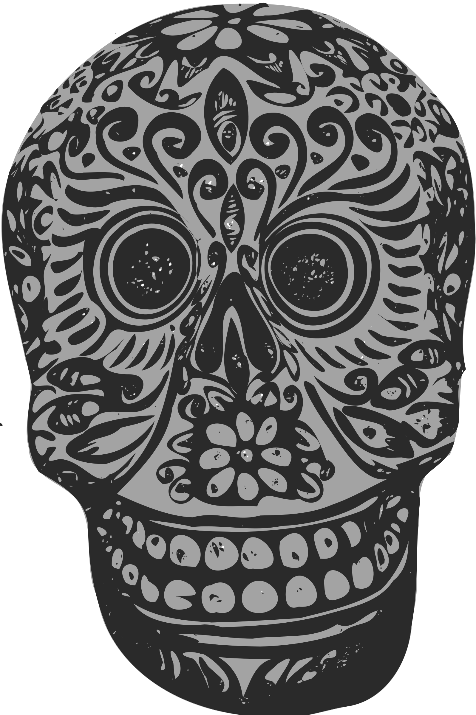Tatoo skull by ben