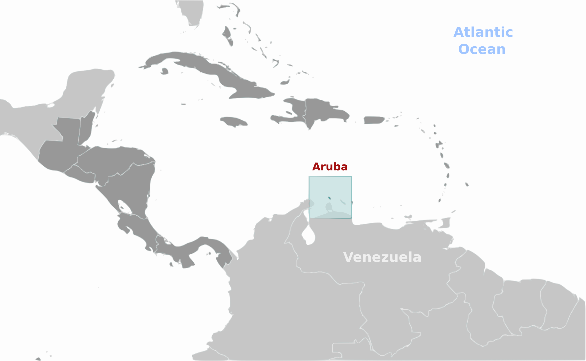 Aruba location label by wpclipart