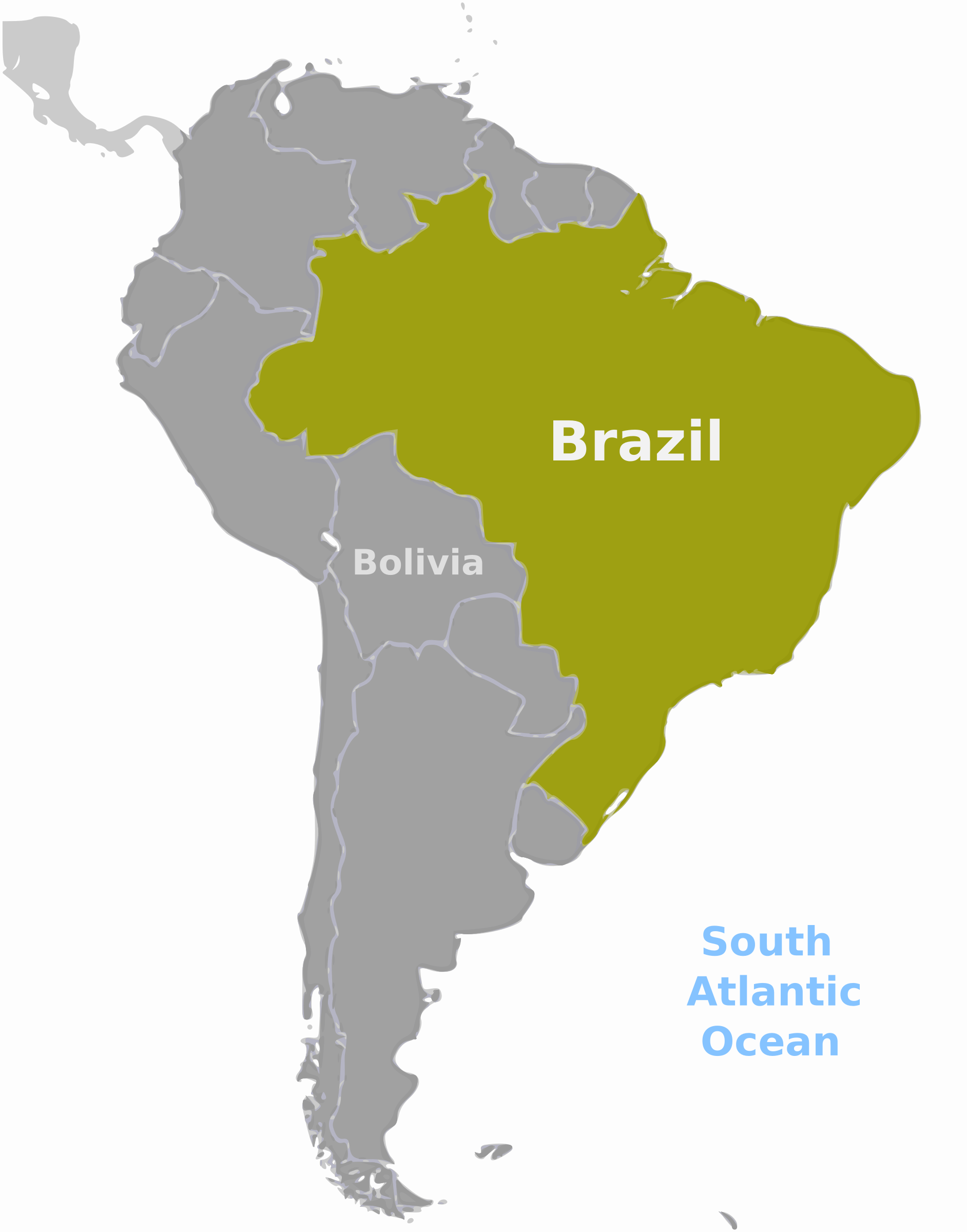 Brazil location label by wpclipart