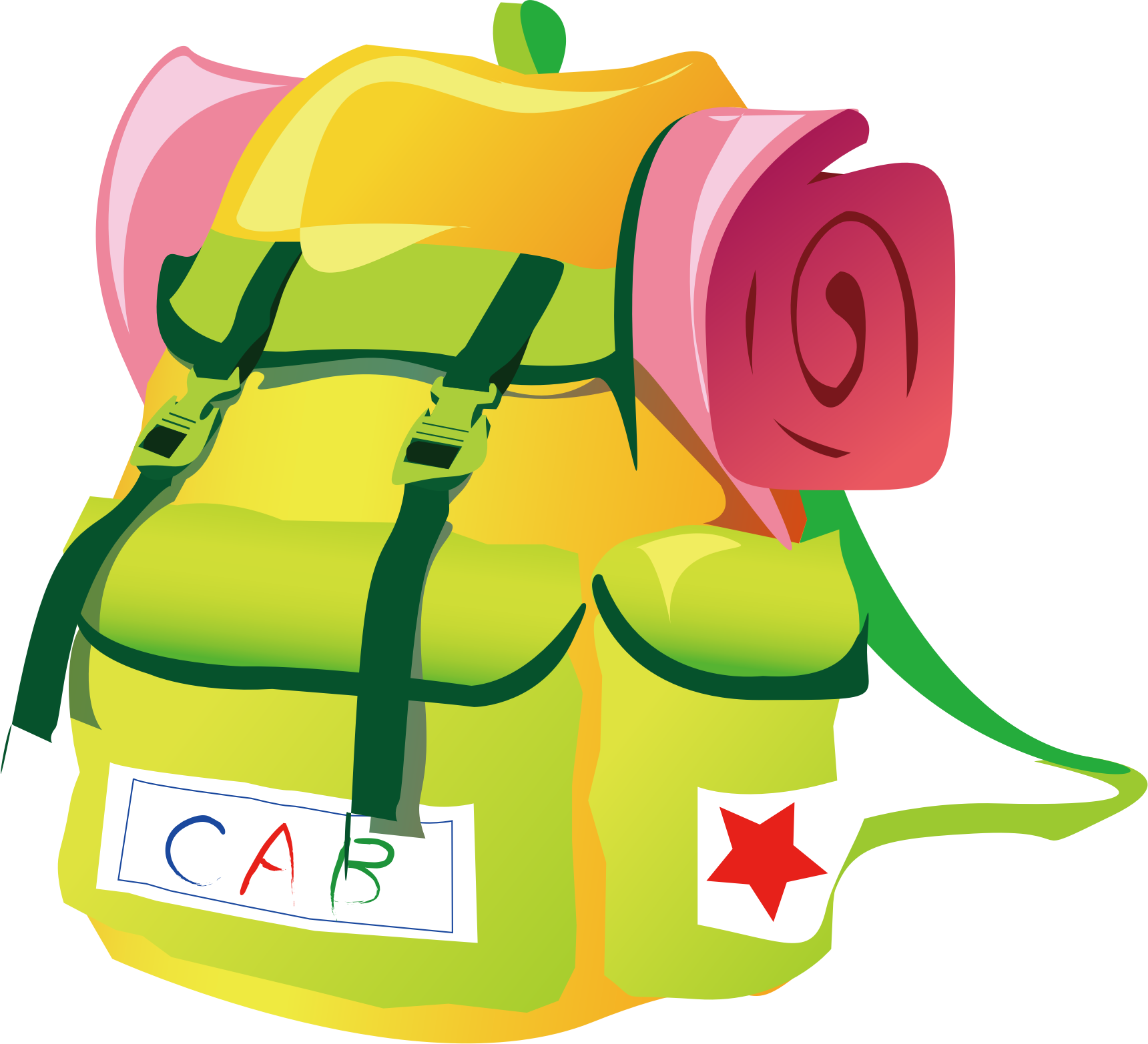 clipart travel backpack rh openclipart org travel clipart travel clip art images
