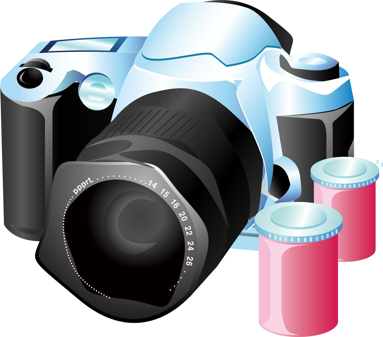 Camera Icons by vectorsme