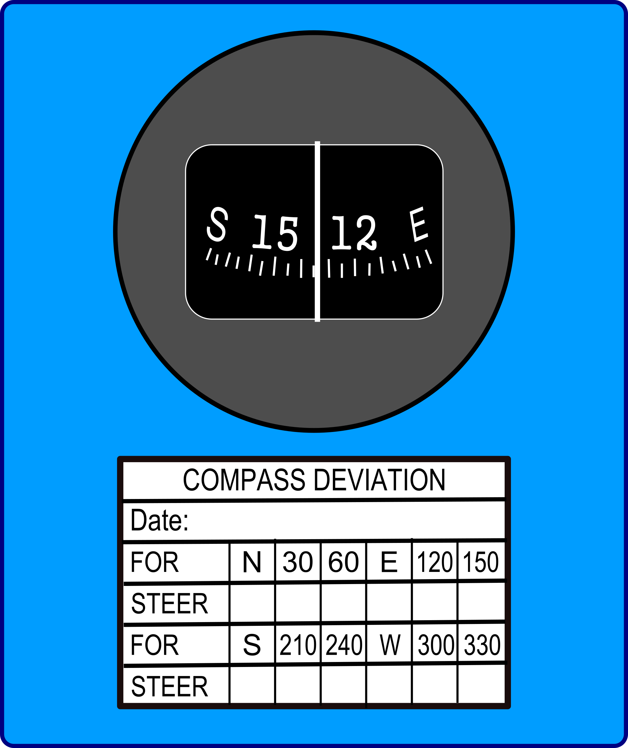Magnetic Compass by Startright