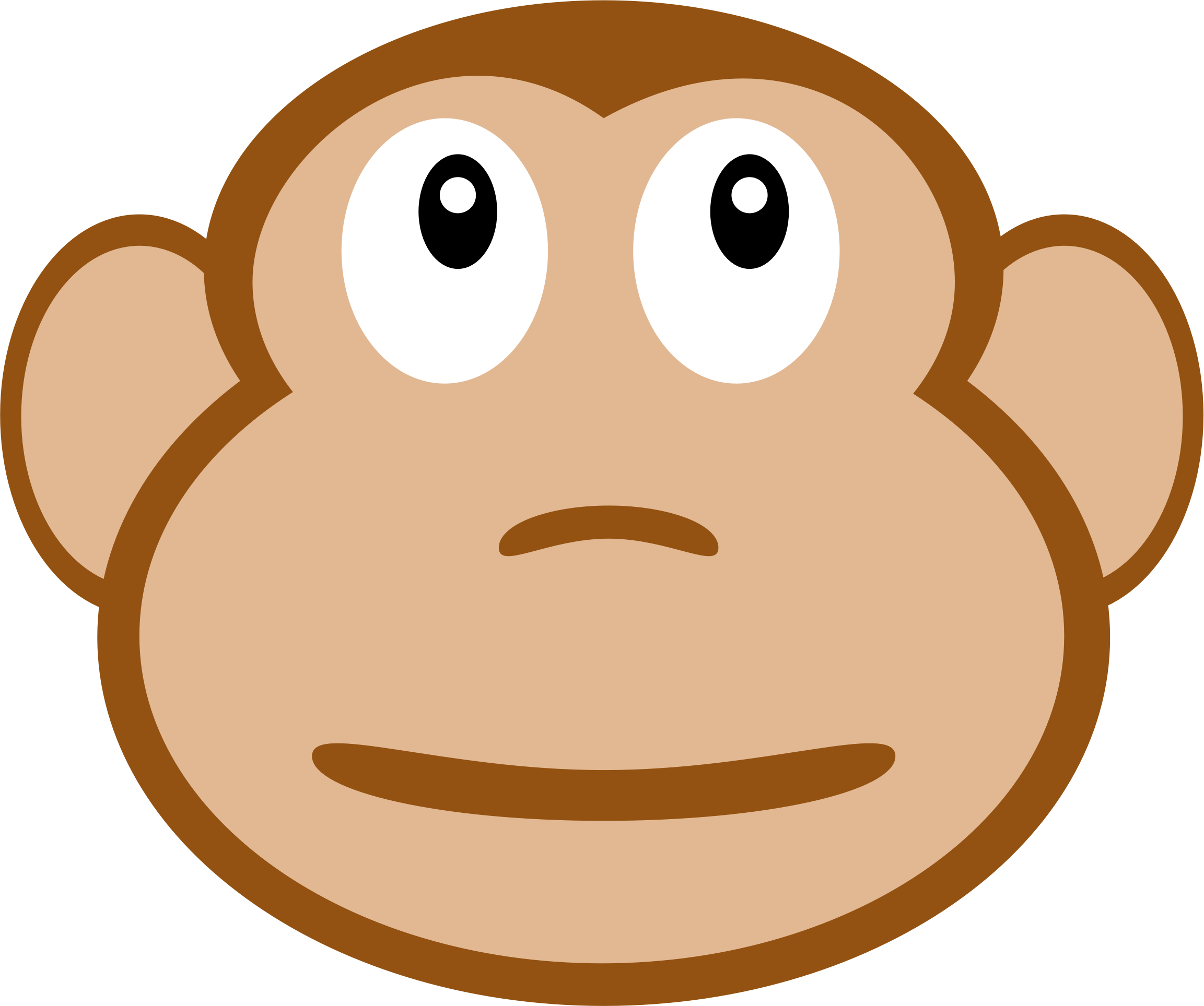 clipart fwd monkey face rh openclipart org  cute monkey face clip art