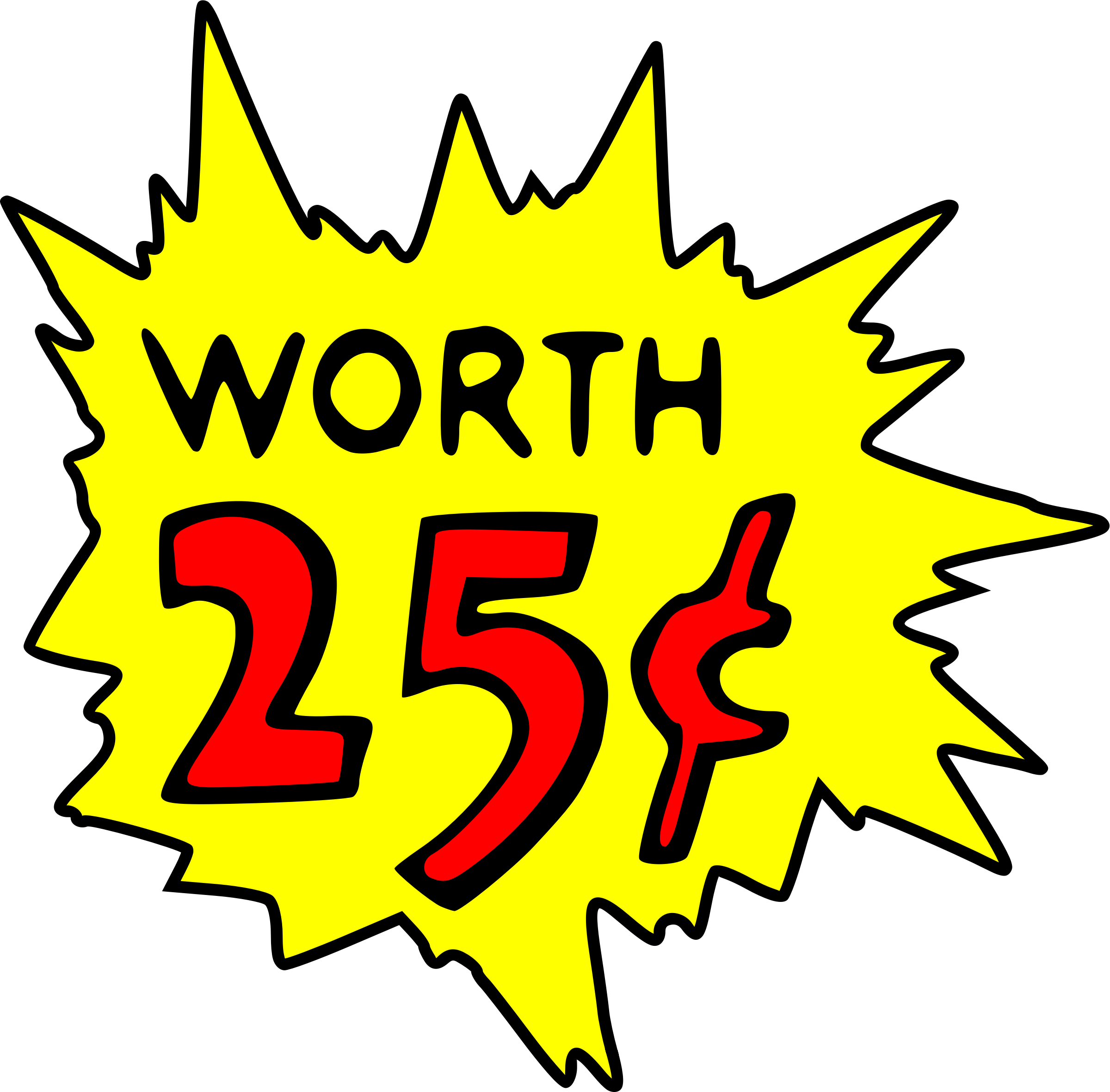Worth 25 cent by liftarn