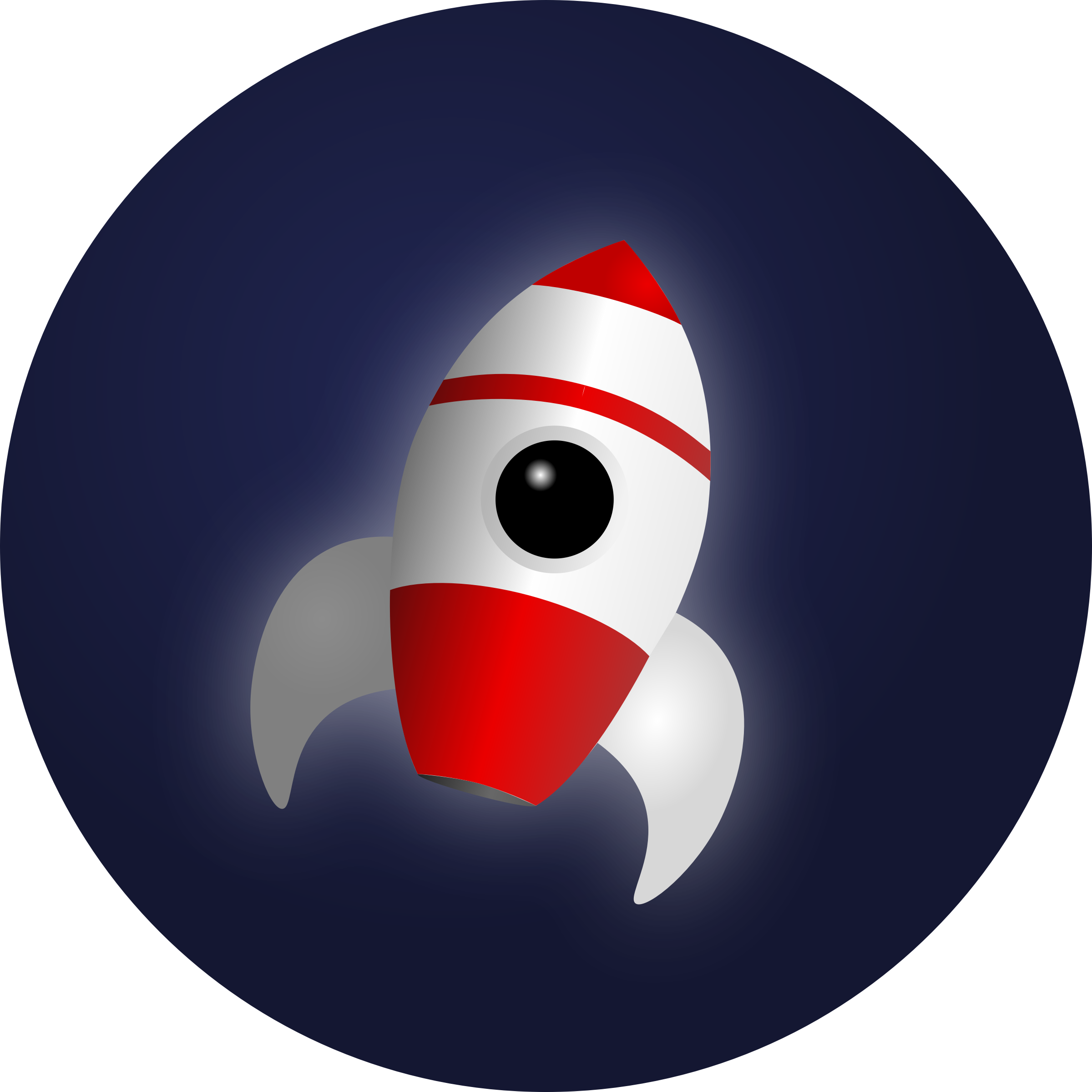 Rocket in Space by Mahmoud