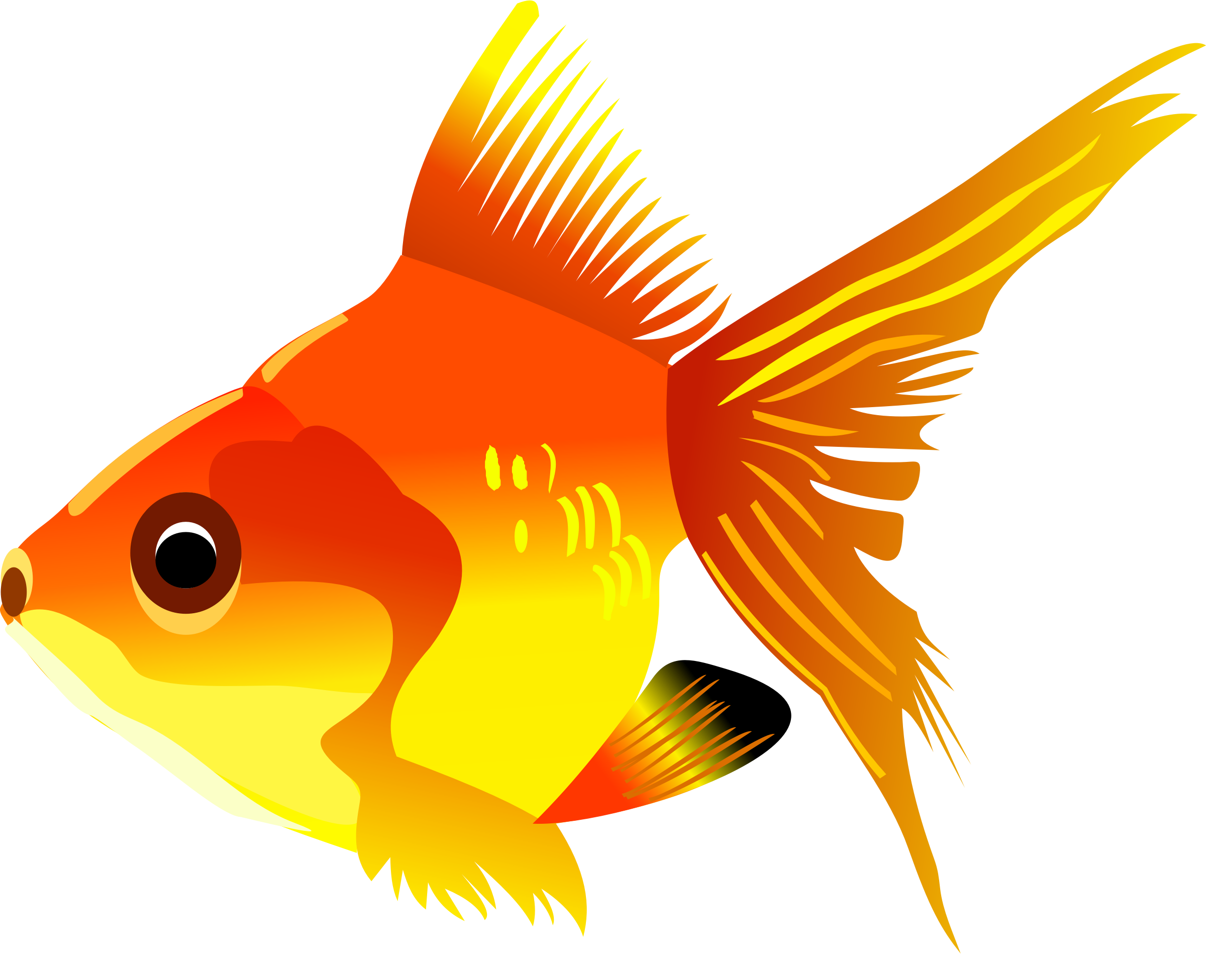 BIG IMAGE (PNG): openclipart.org/detail/181437/fish-icons-by-vectorsme-181437