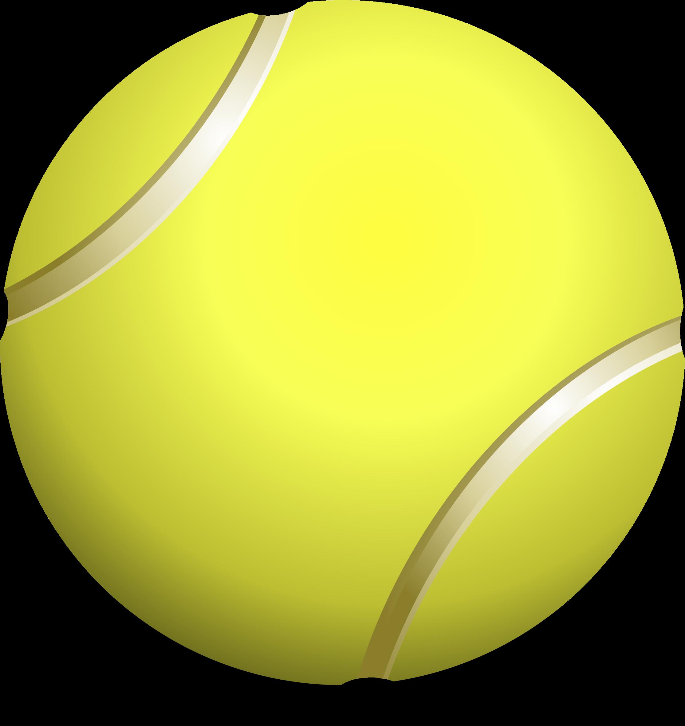 Clipart - tennis ball, teniso kamuoliukas