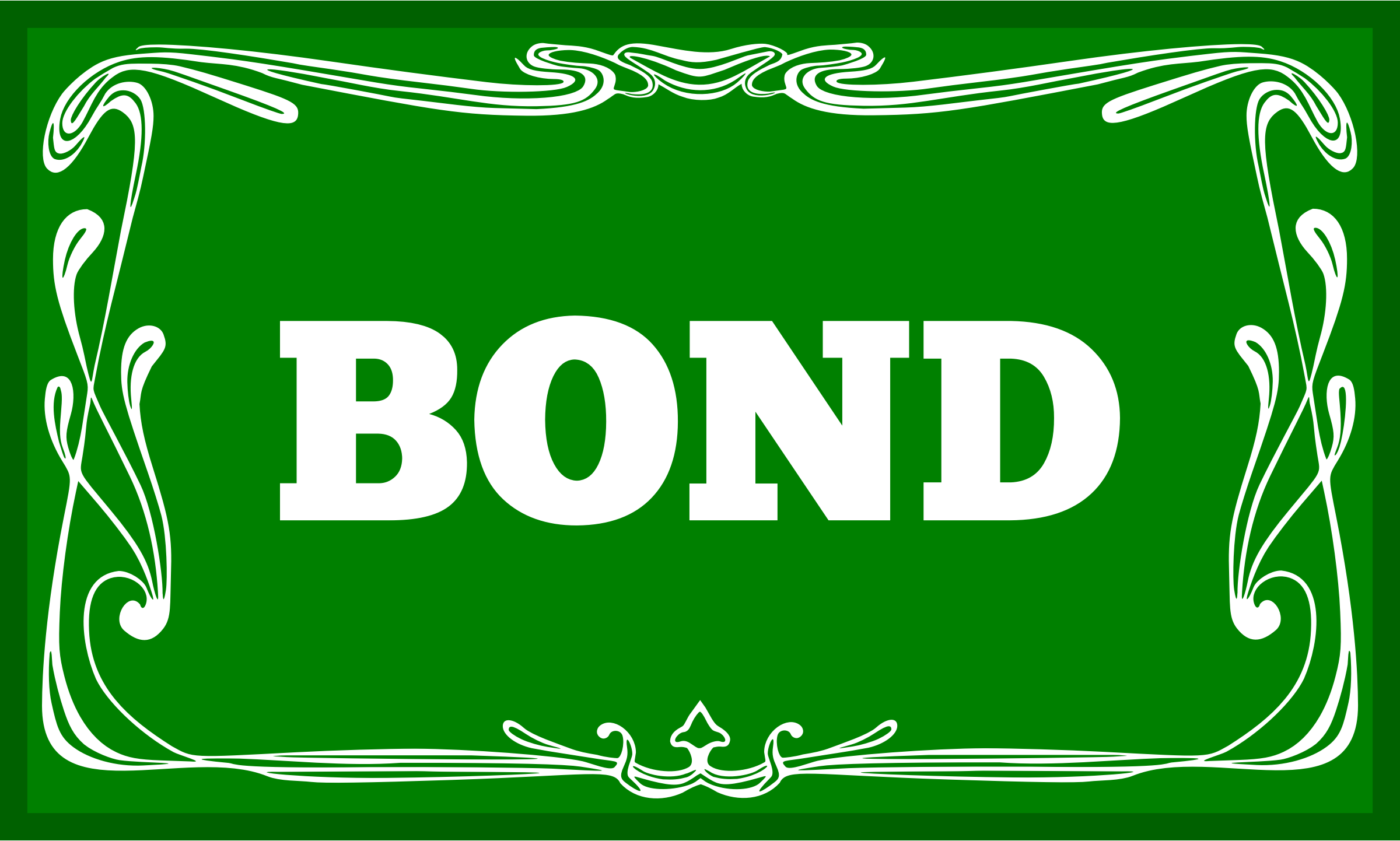 Bond by Alastair