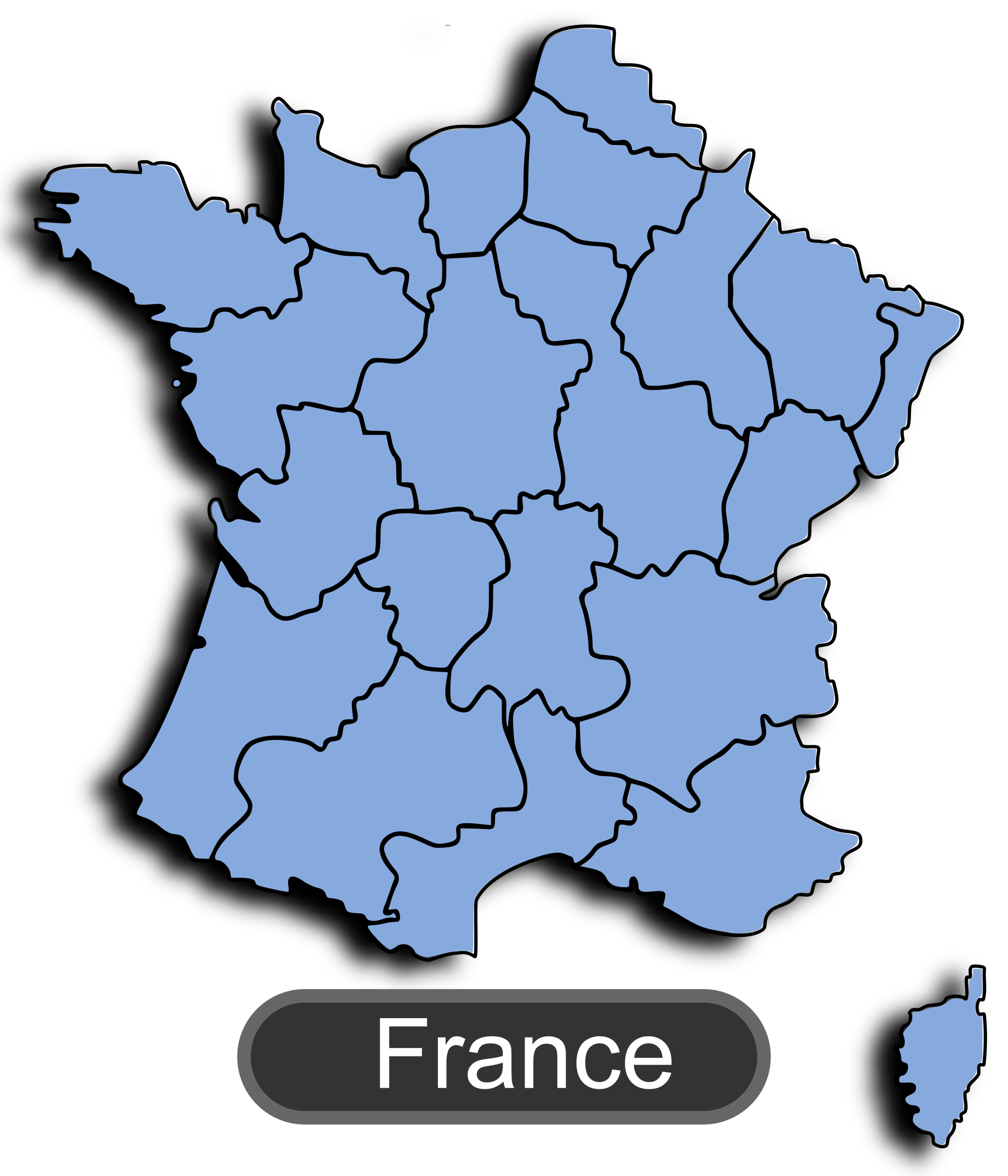 Map of France 1 by maxime8
