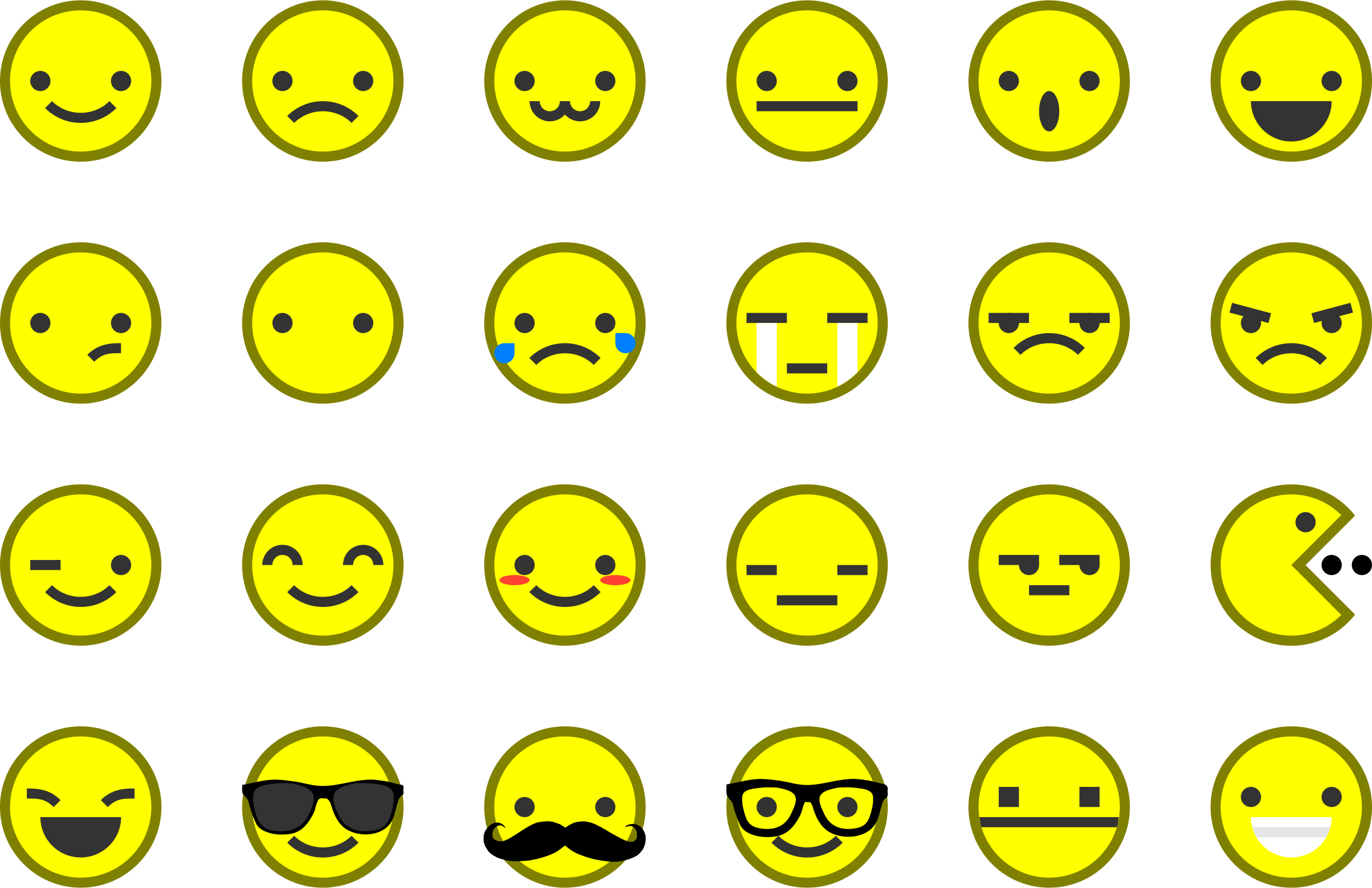 Emoticons & Smileys by nanozero87