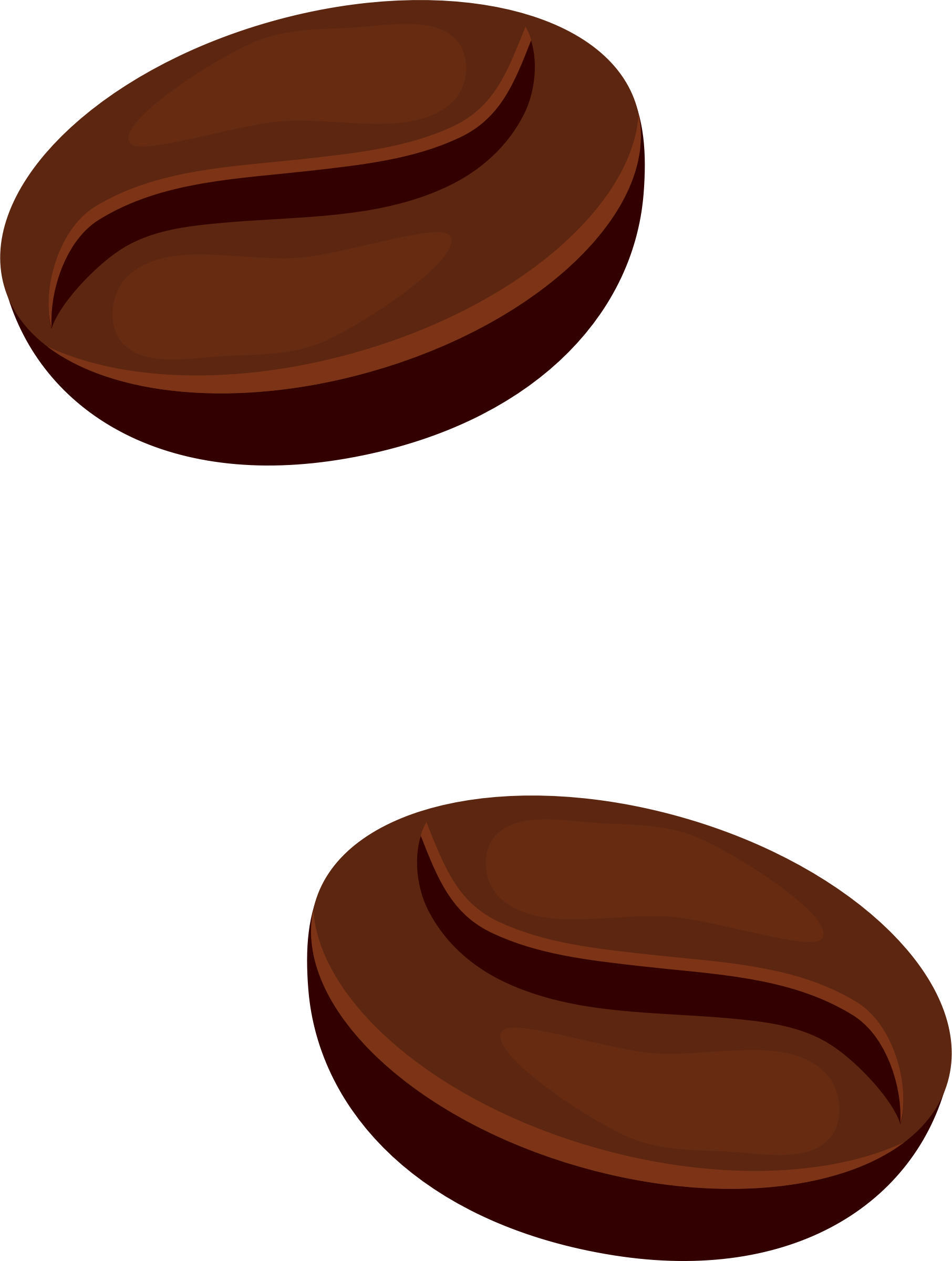 Clipart - Coffee beans