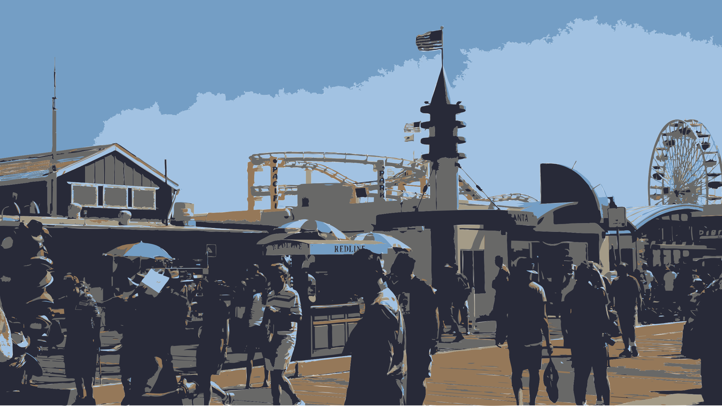 Santa Monica Pier California 2013-08-17 by peteippel