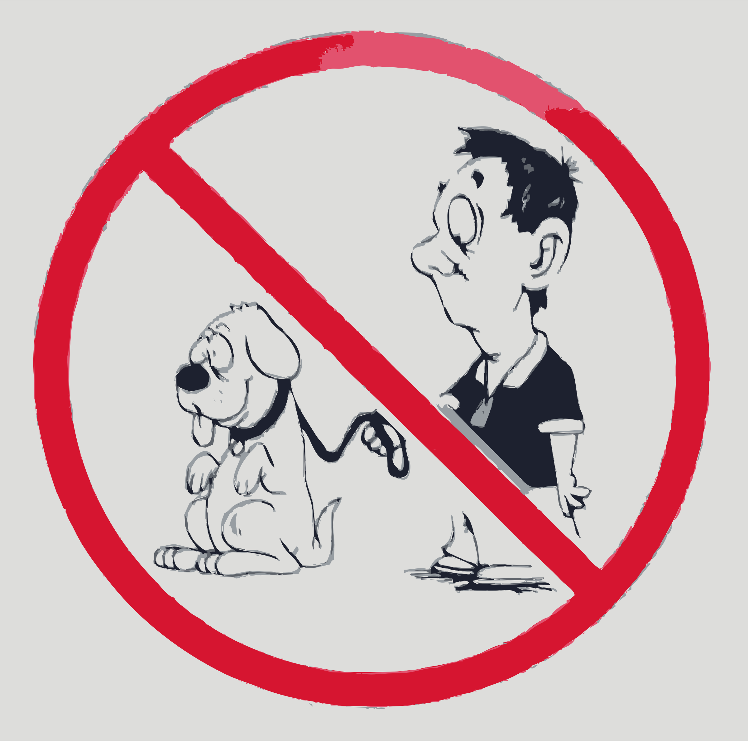 No dogs allowed by rejon