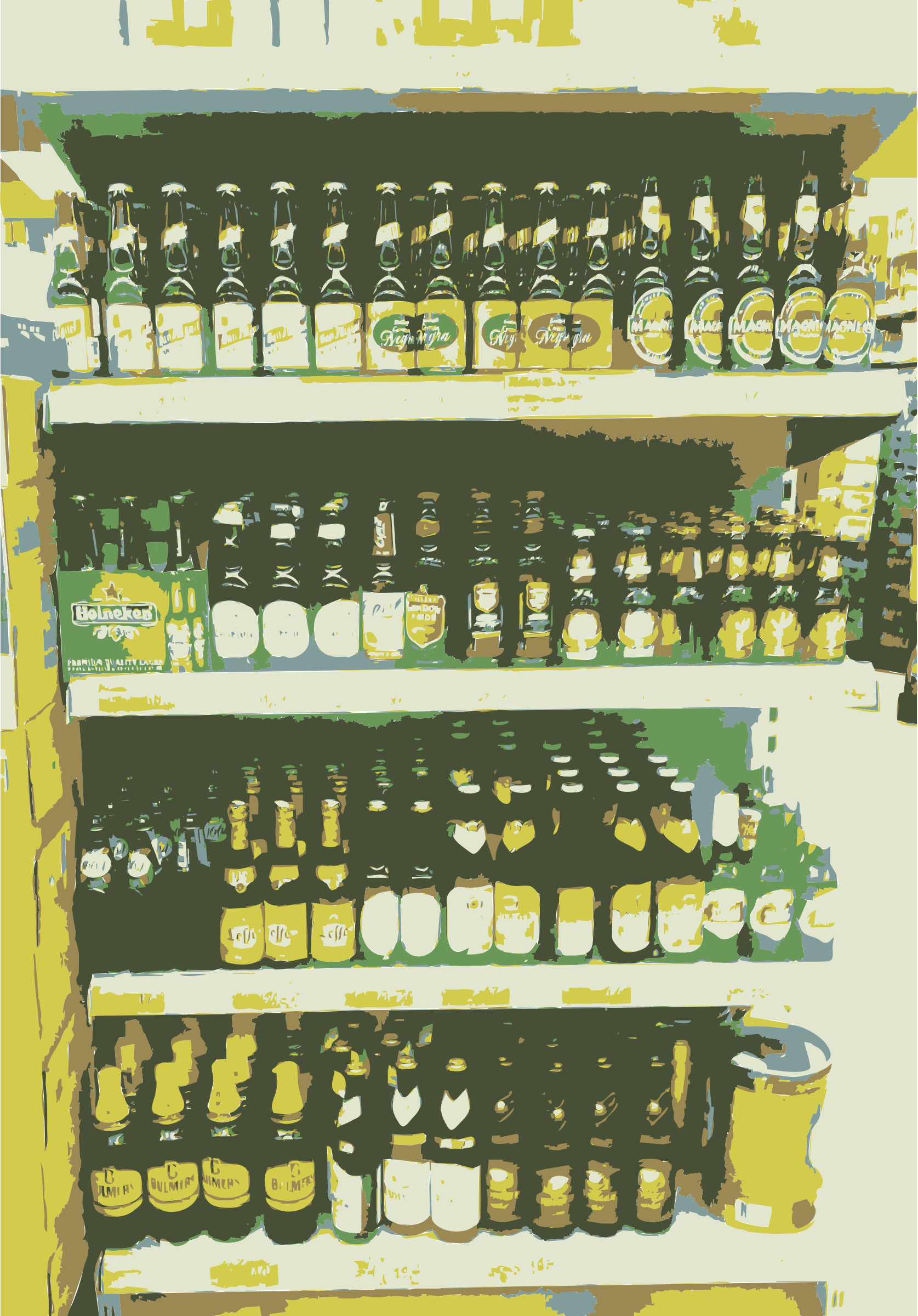 Wall of beers by rejon