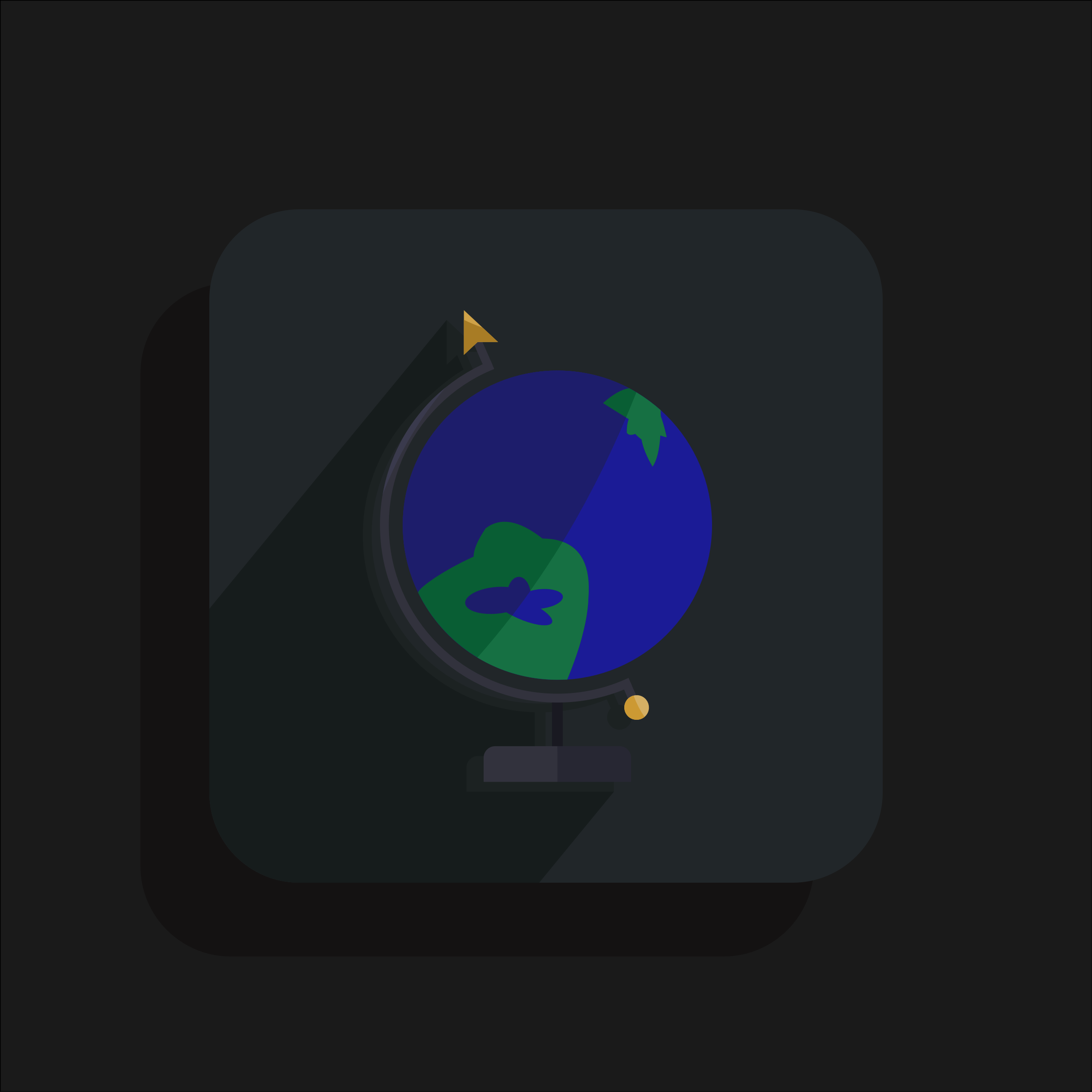 Inaccurate Globe Icon by barrettward