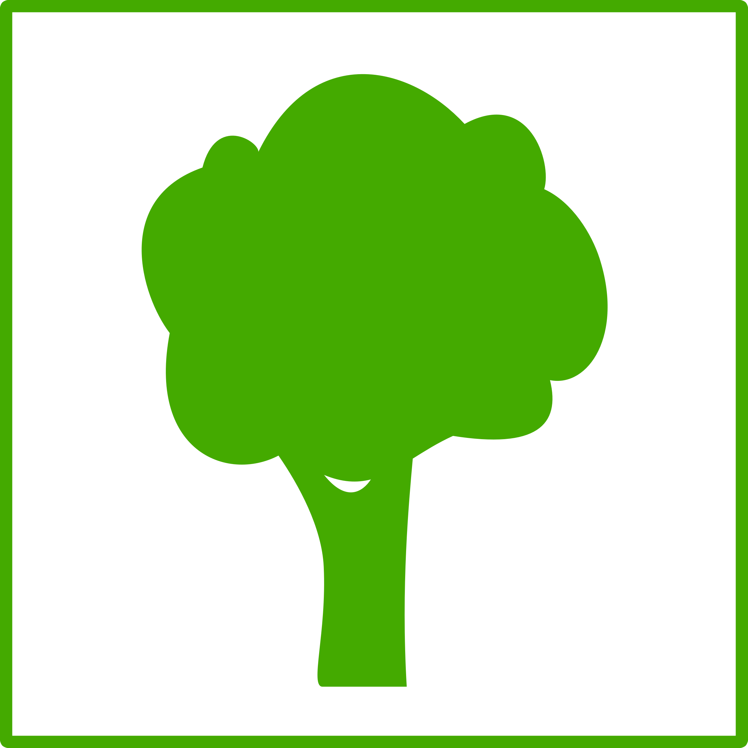 Eco green tree icon by dominiquechappard