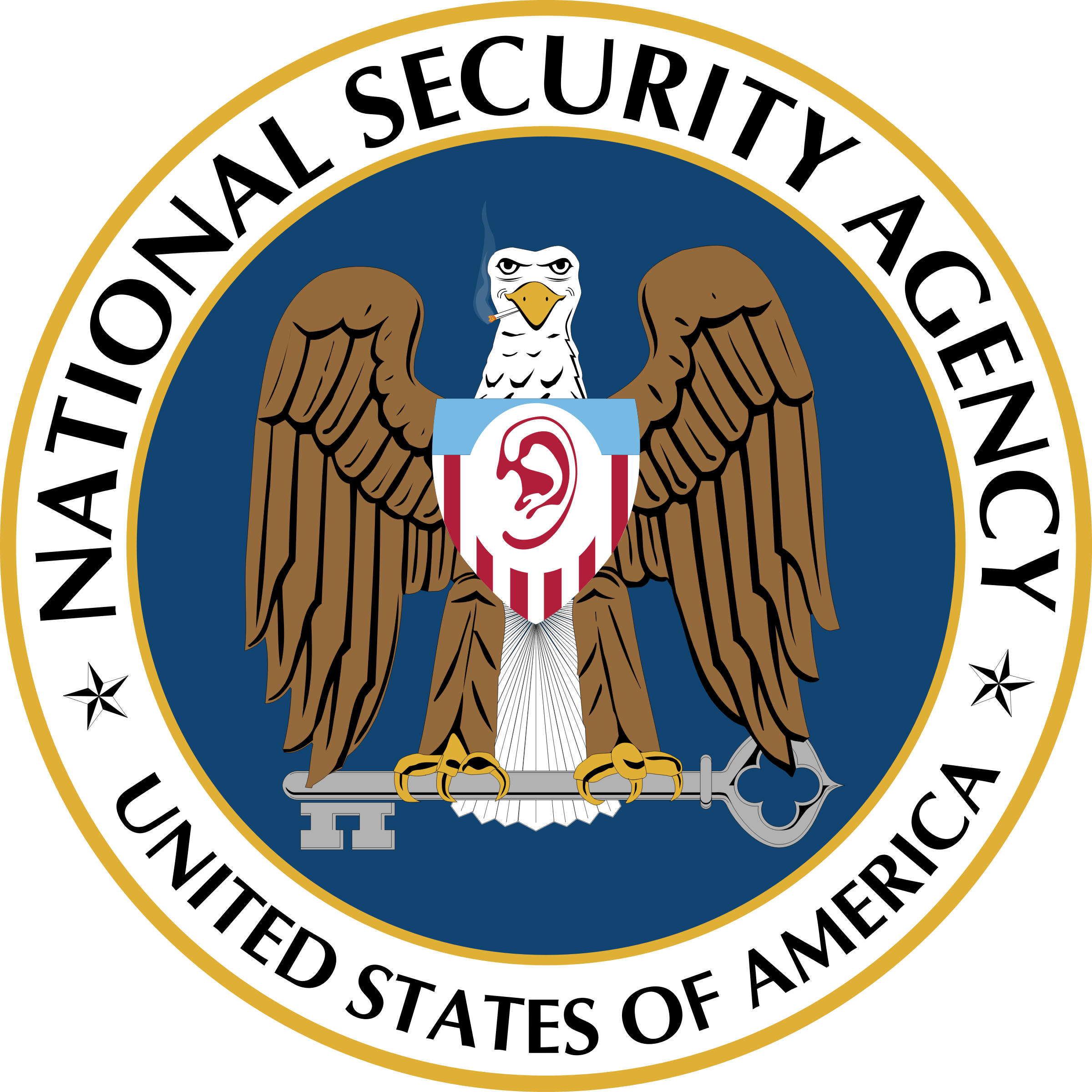 National Security Agency logo by raphaelb