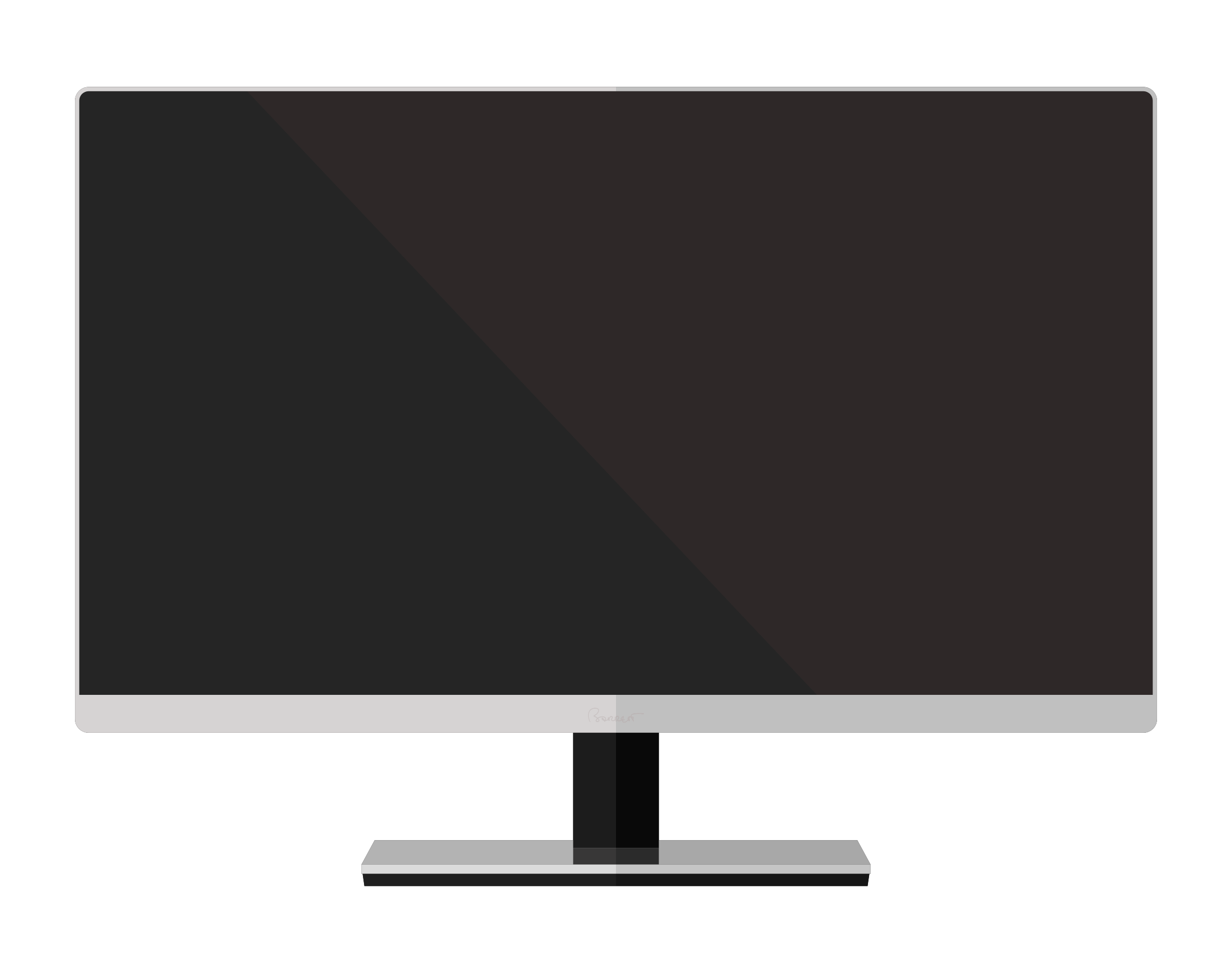 Simple LED Monitor by barrettward